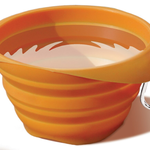 Kurgo Kurgo Collapsable Bowl Orange