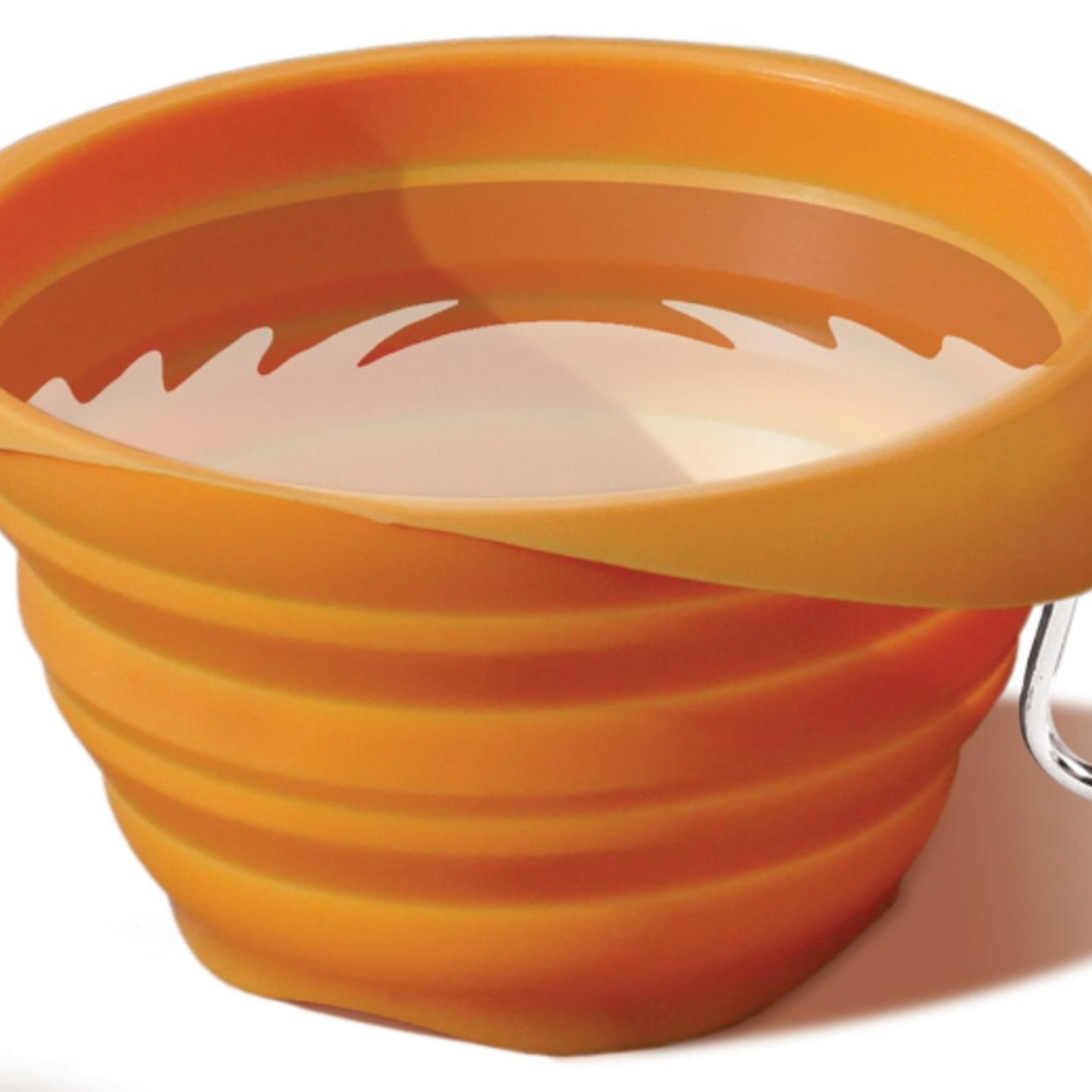 Kurgo Kurgo Collapsable Bowl Orange