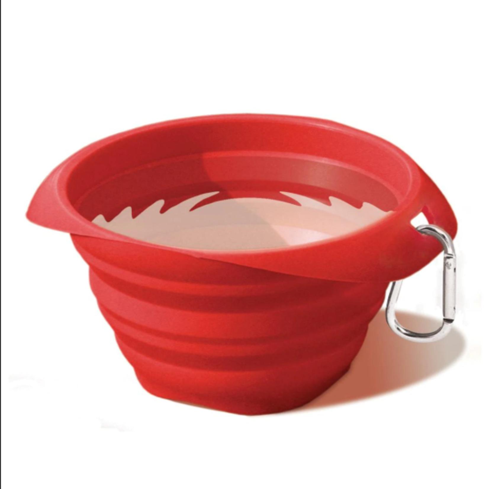 Kurgo Kurgo Collapsable Bowl Red