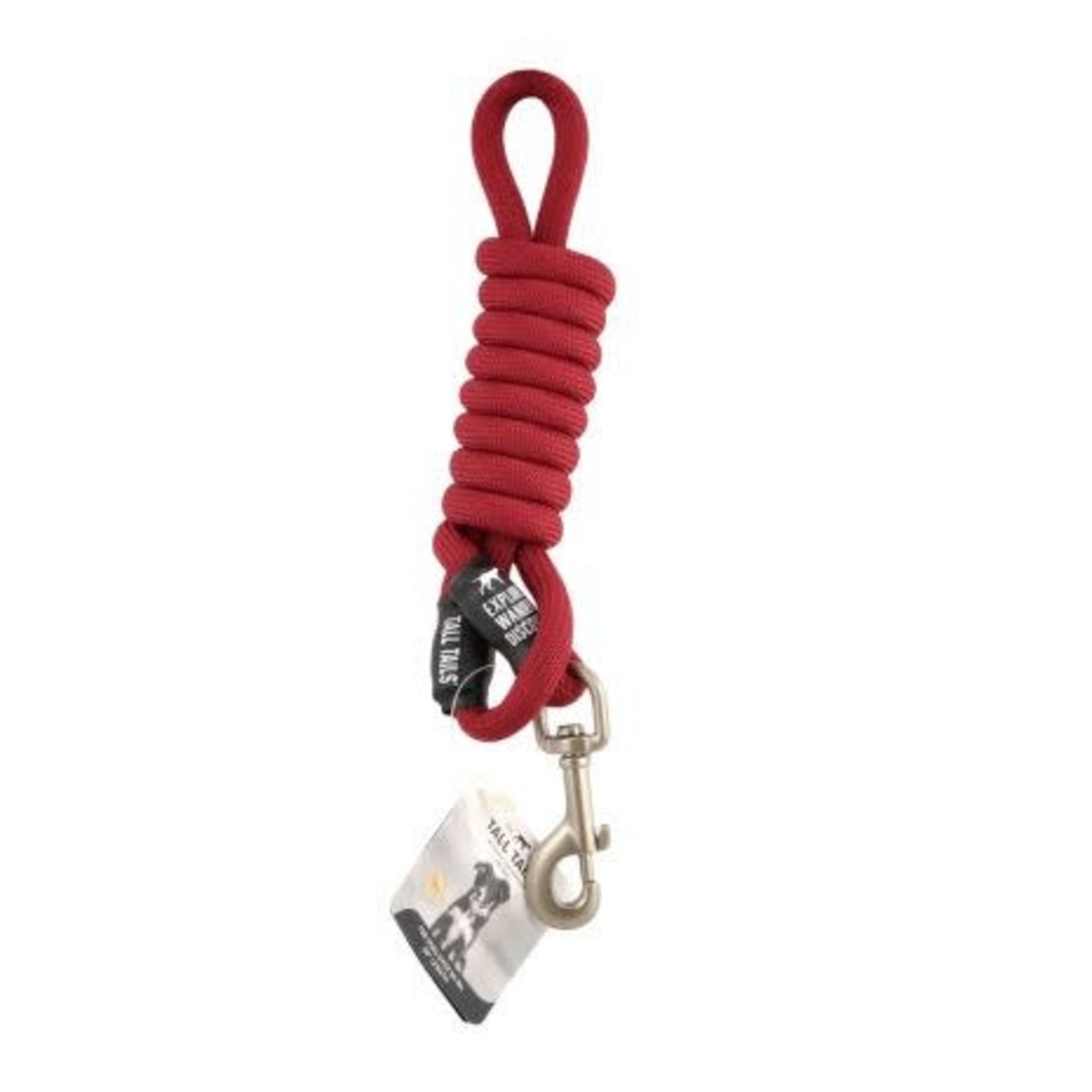 Tall Tails Tall Tails Rope Leash Red Small