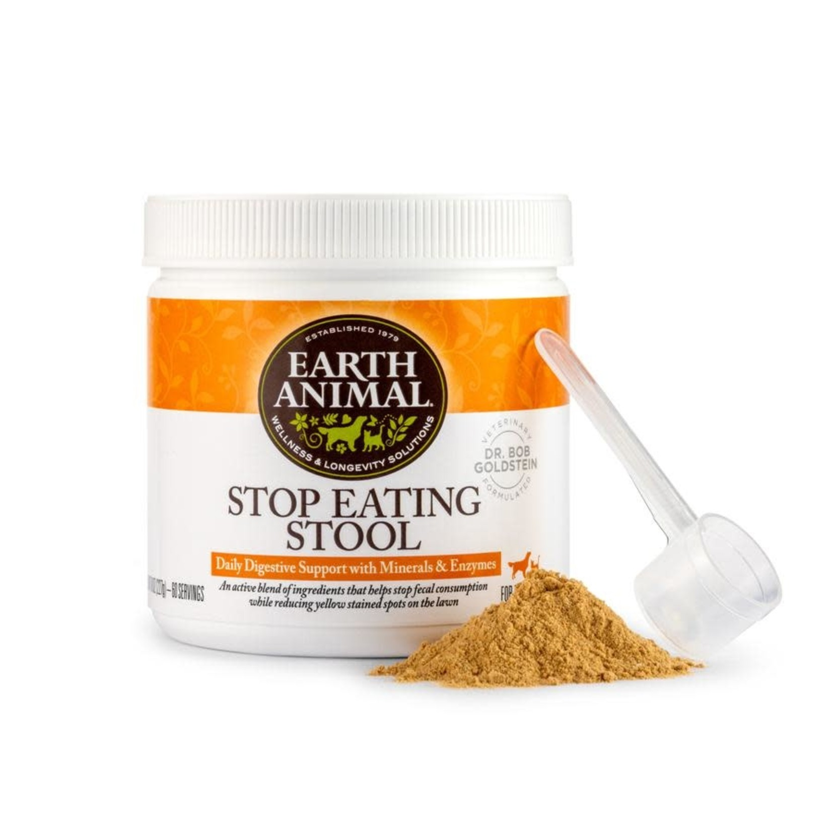 Earth Animal Earth Animal Stop Eating Stool 8 OZ