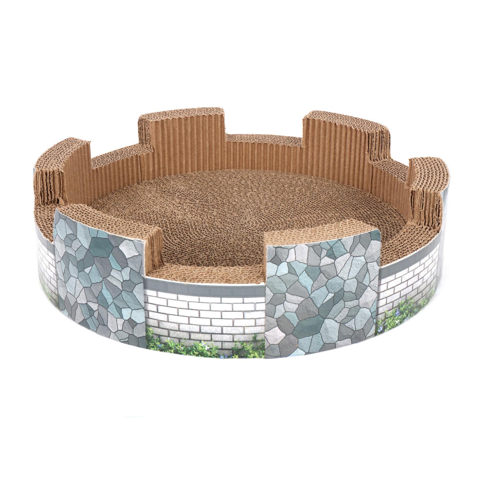 Ware Mfg. Ware Corrugated Cat Castle Scratcher