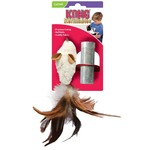 Kong Company Kong Cat Refillables Catnip Feather Mouse