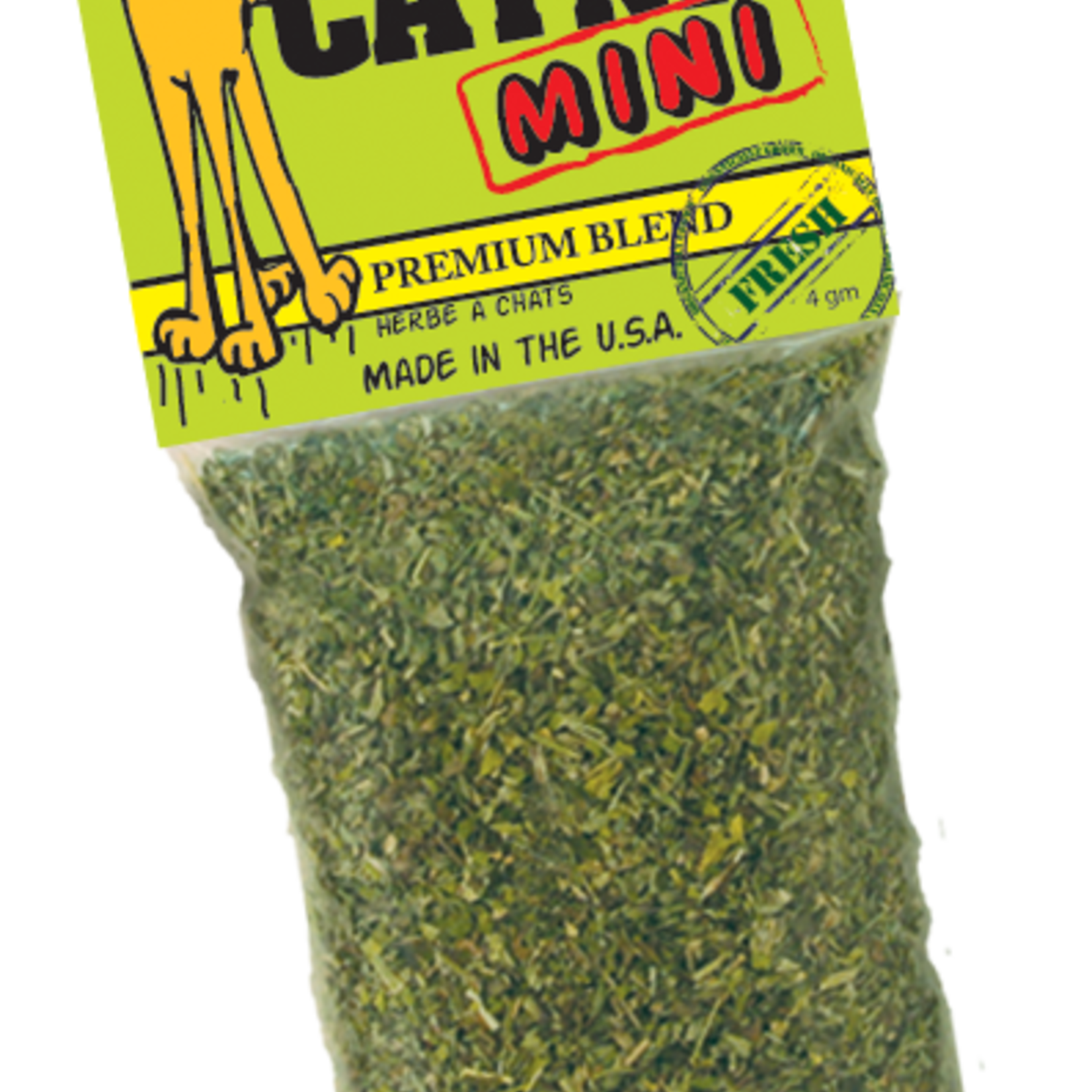Ducky World Inc. Ducky World Yeow! Catnip Mini - Misdemeanor Size