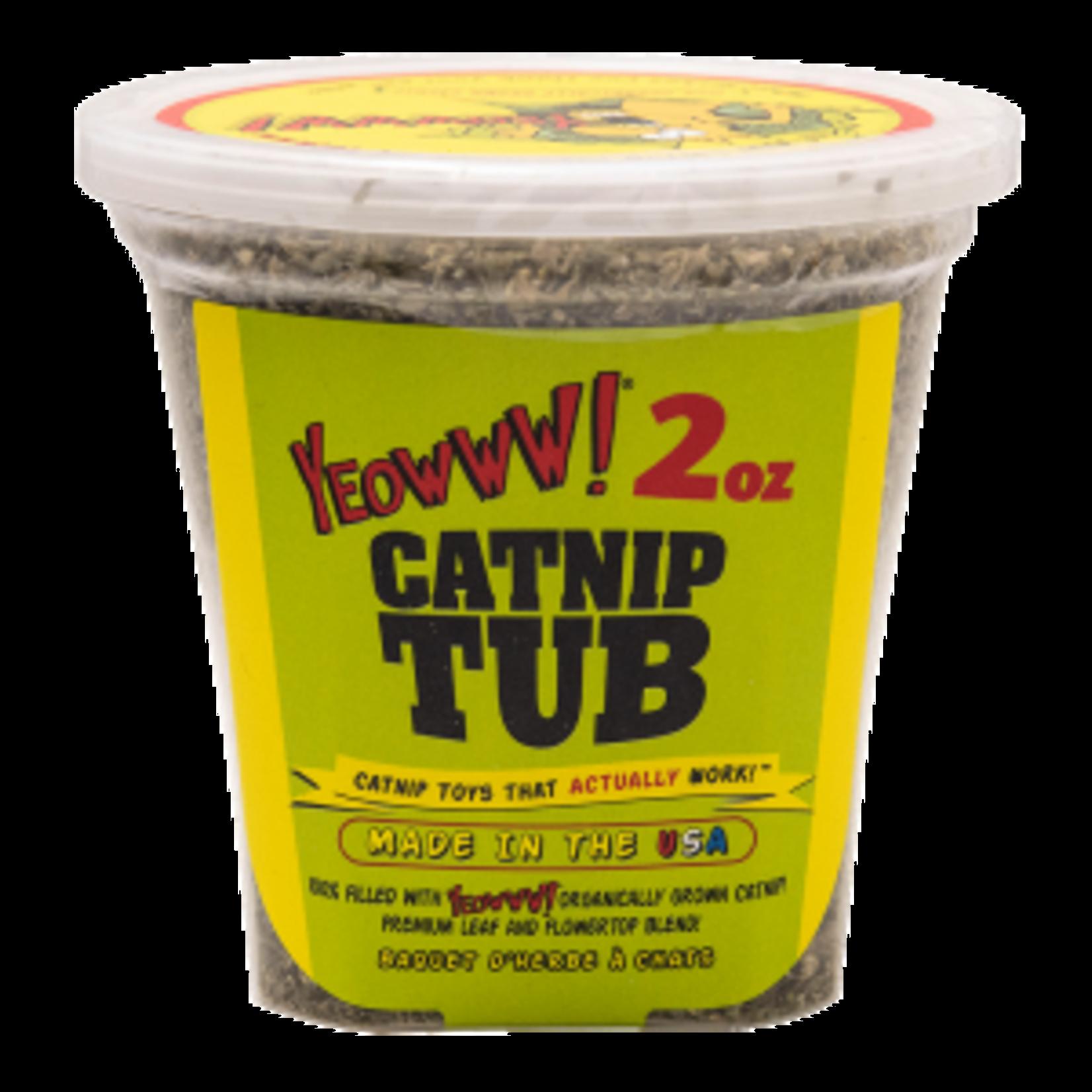Yeoww Ducky World Inc. Ducky World Yeow! Catnip 2 OZ Tub