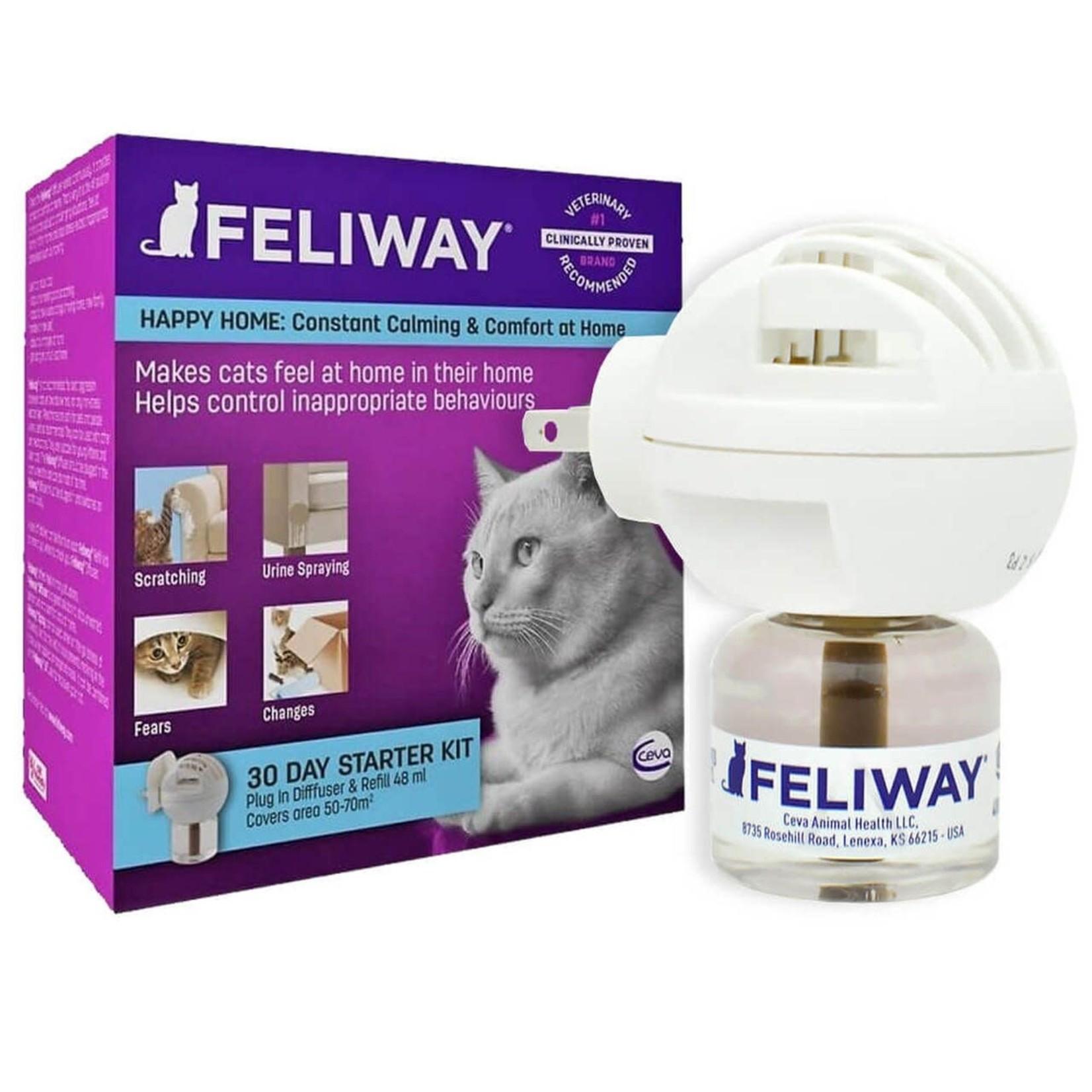 Farnam Feliway Plug-In Cat Diffuser Starter Kit