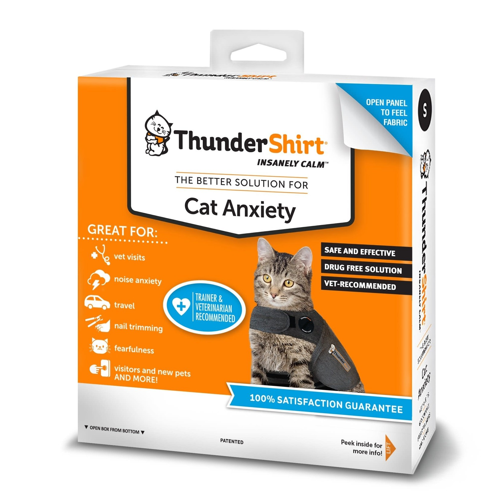 Thunder Works Thundershirt Cat Medium
