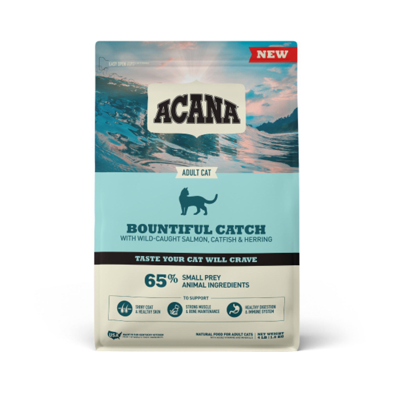 Champion Pet Foods Acana Cat Bountiful Catch 4#