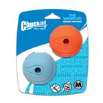Chuck-it Chuckit Whistler Balls 2 Pack Medium