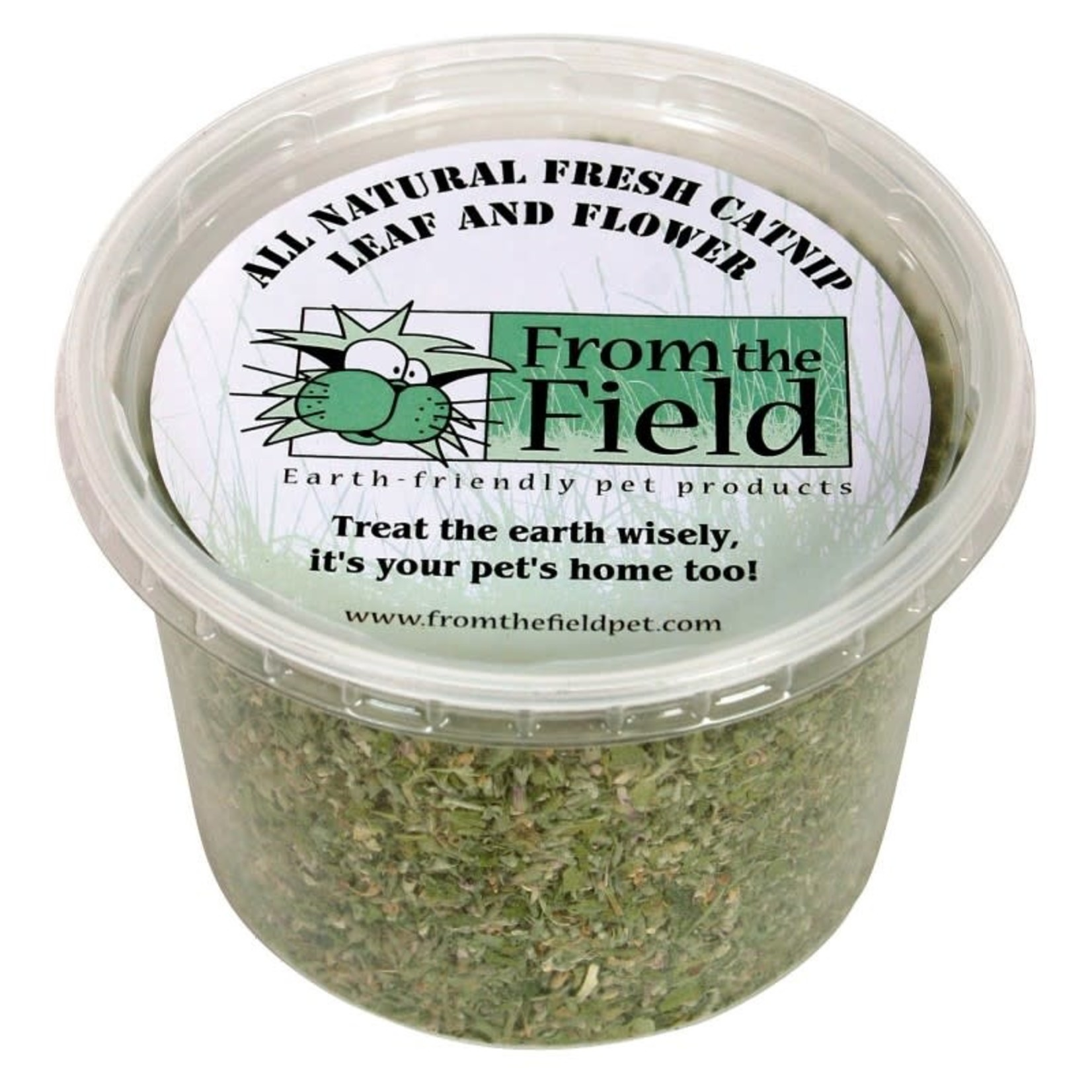 From The Field From The Field All Natural Catnip Leaf & Flower 2 OZ Tub