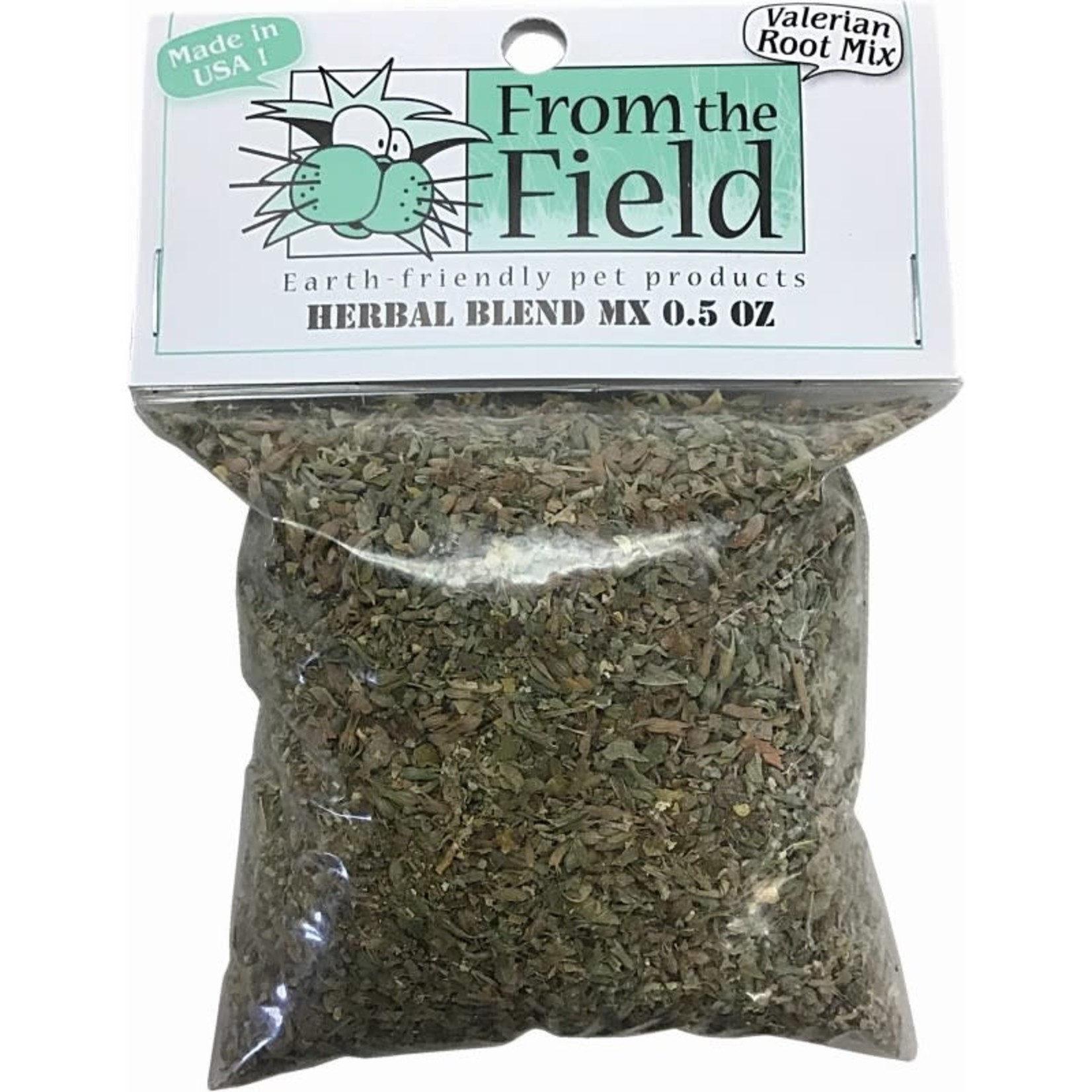 From The Field From The Field Herbal Blend Catnip & Valerian Root .5 OZ Bag