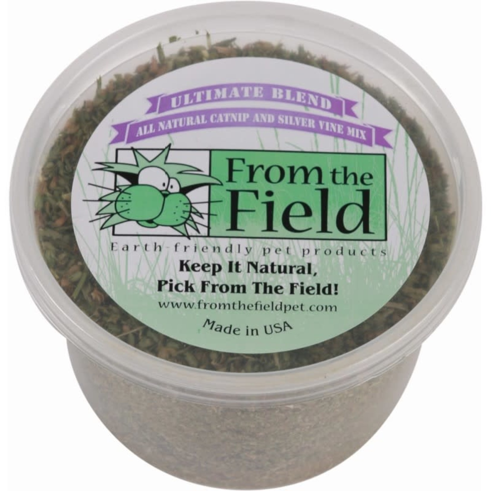 From The Field From The Field Ultimate Blend Catnip Silver Vine Mix 2 OZ Tub