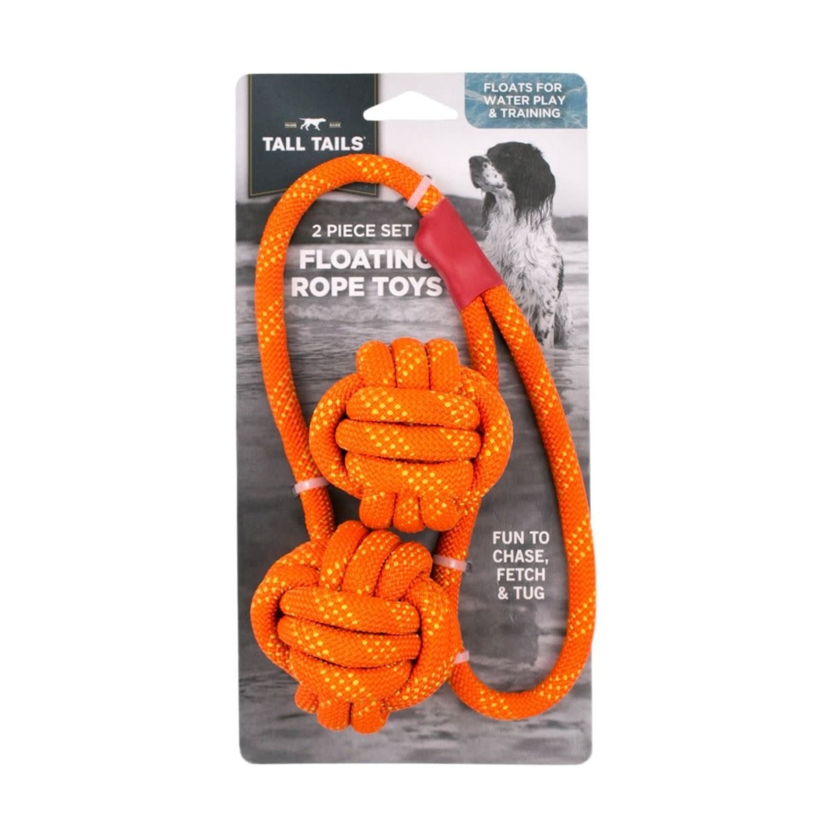 Tall Tails Tall Tails D Floating Rope Orange