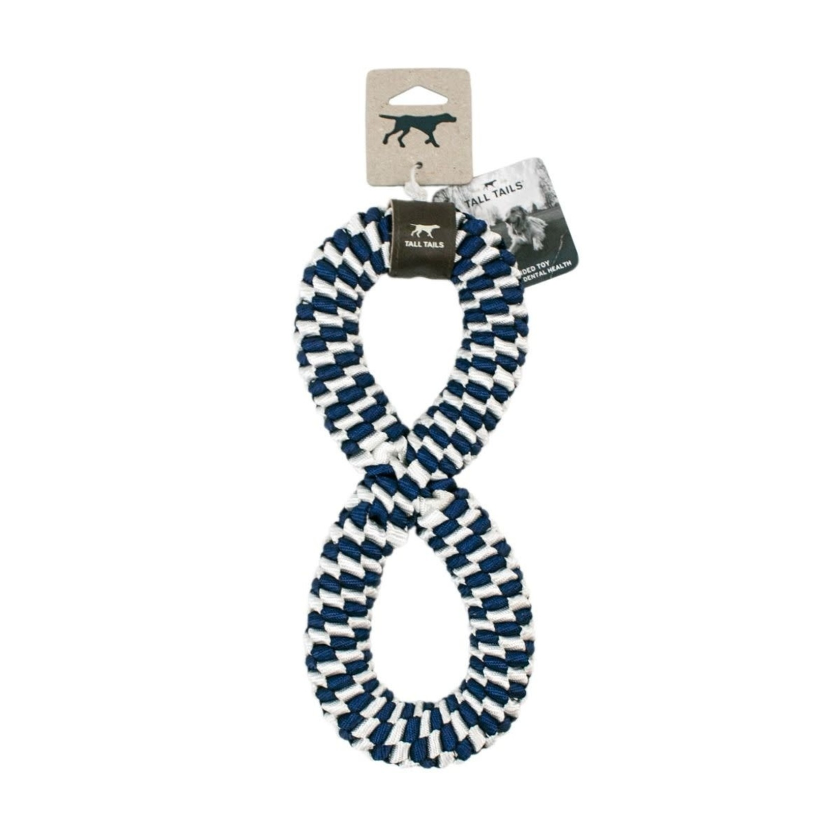 Tall Tails Tall Tails Braided Infinity Tug Navy