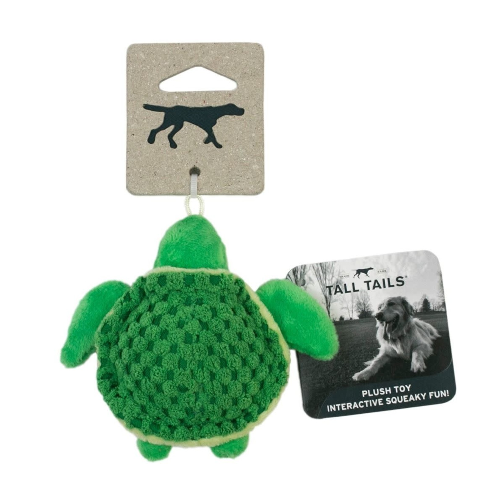 Tall Tails Tall Tails Plush Squeaker Turtle