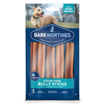 "Barkworthies Barkworthies Odor Free Bully Sticks 6"" 5 PACK"