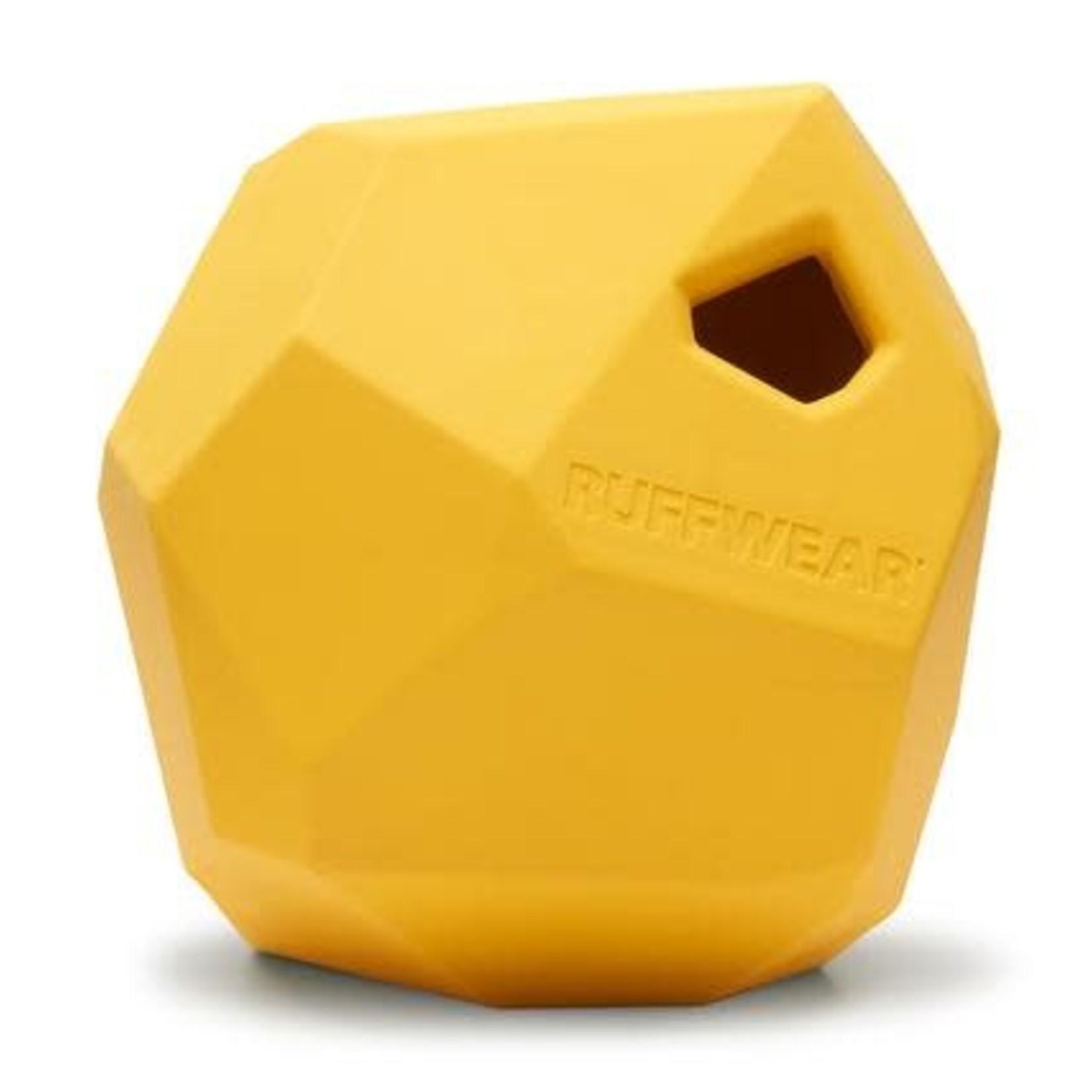 Ruff Wear Ruffwear Gnawt-a-Rock Dandelion Yellow