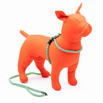 Harness Lead Harness Lead 2-In-1 Peacock Large