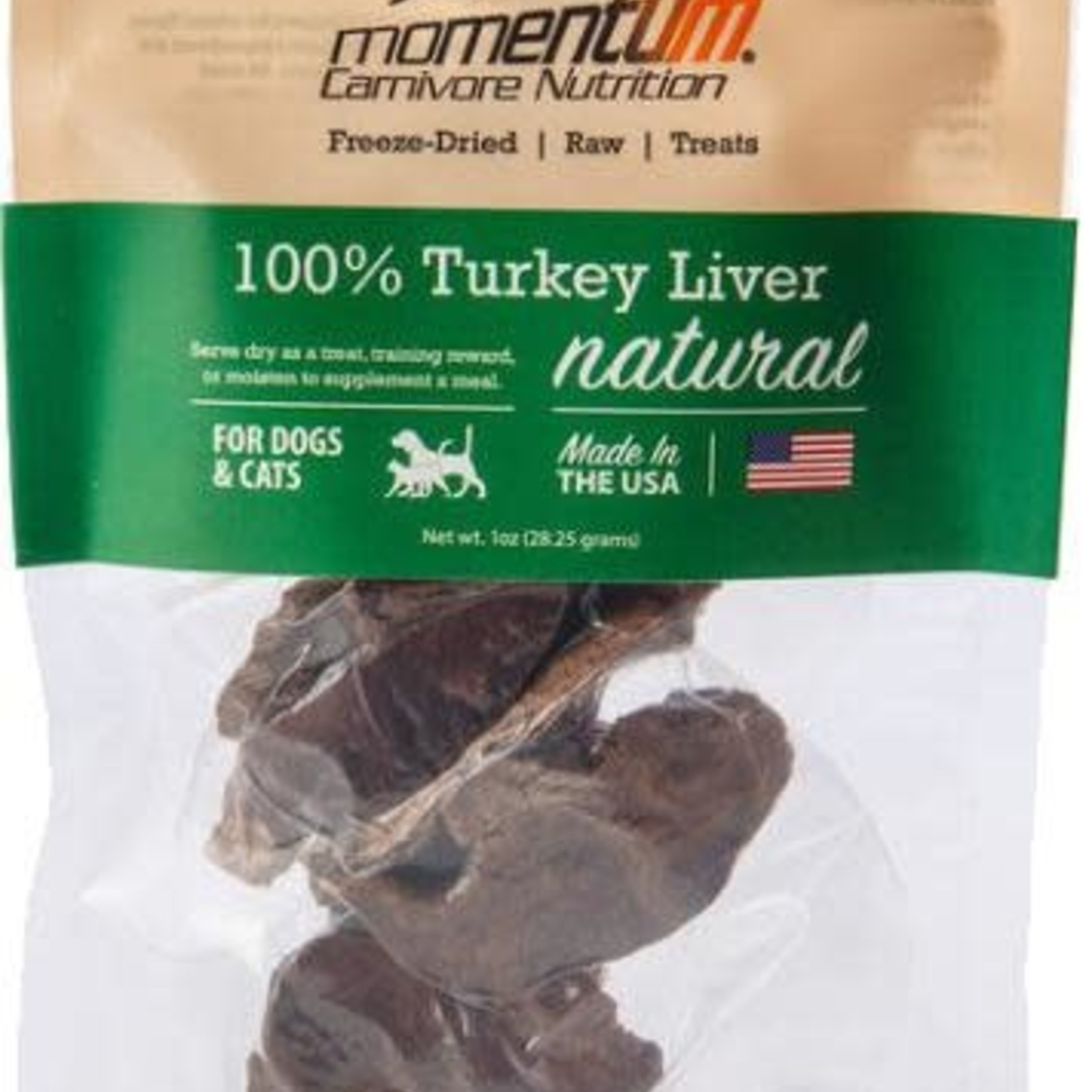 Momentum Momentum Freeze-Dried Turkey Liver 1 OZ