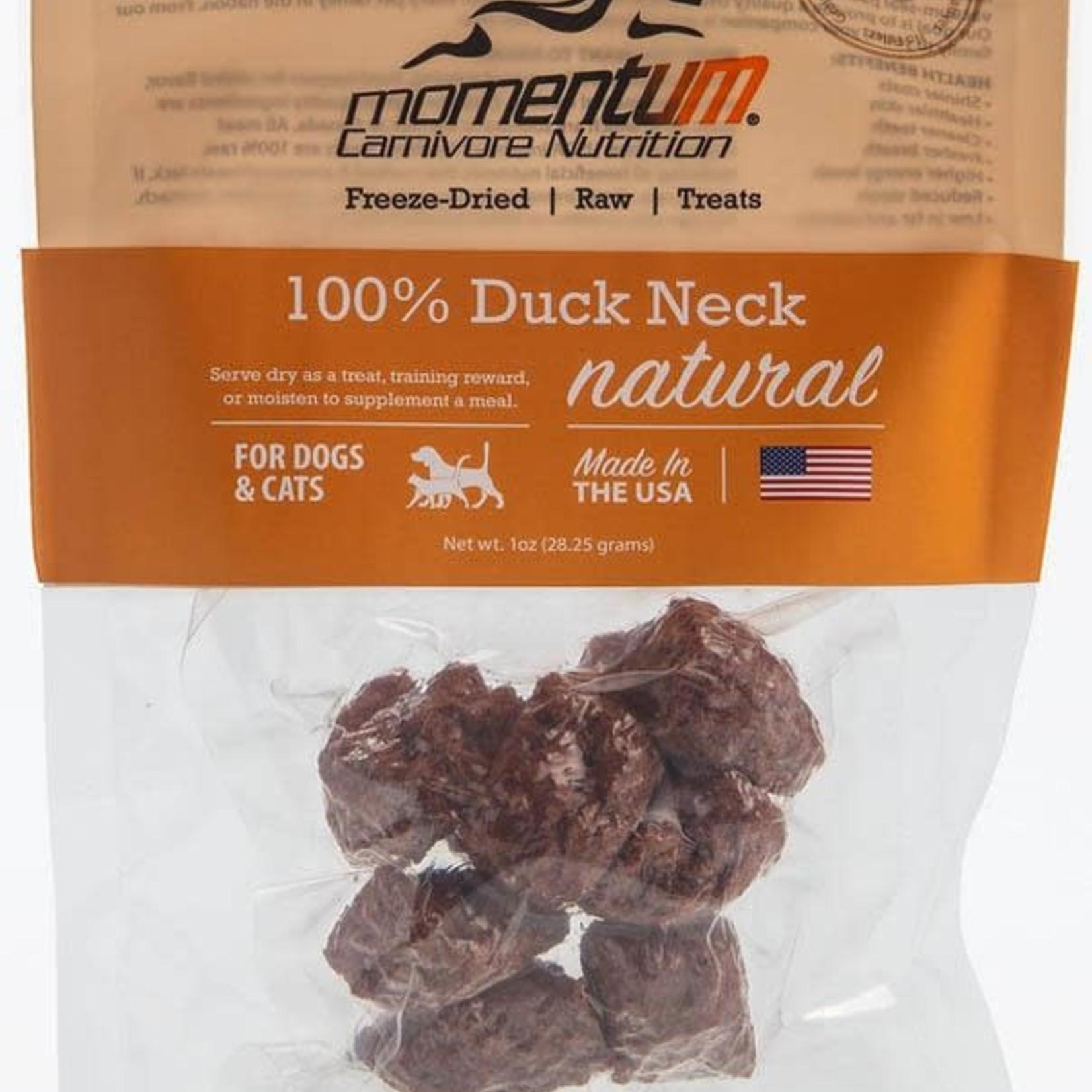 Momentum Momentum Freeze-Dried Duck Neck 1 OZ