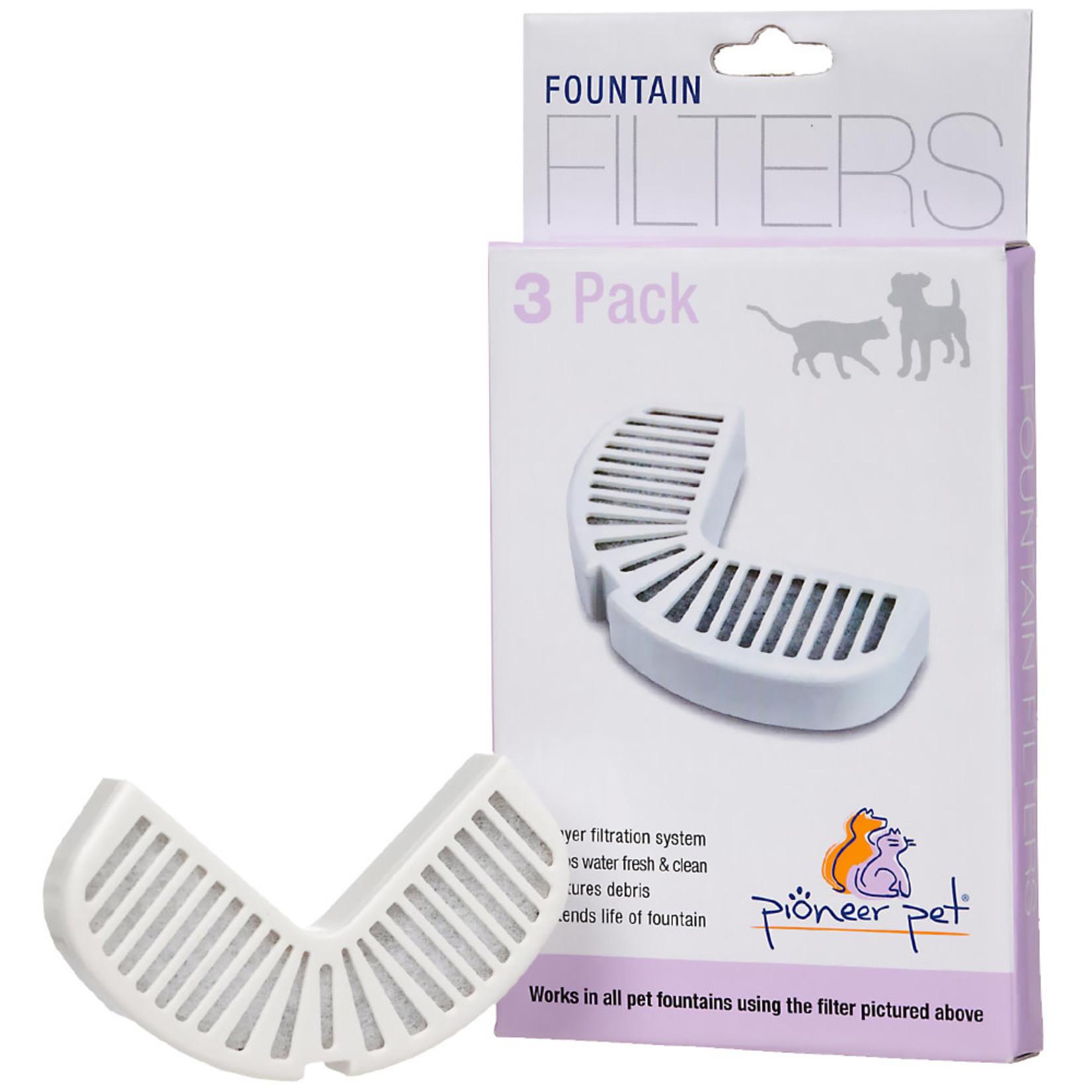 Pioneer Pet Pioneer Pet Fountain Filter 3 Pack