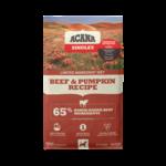 Champion Pet Foods Acana Dog Singles Beef & Pumpkin 25#