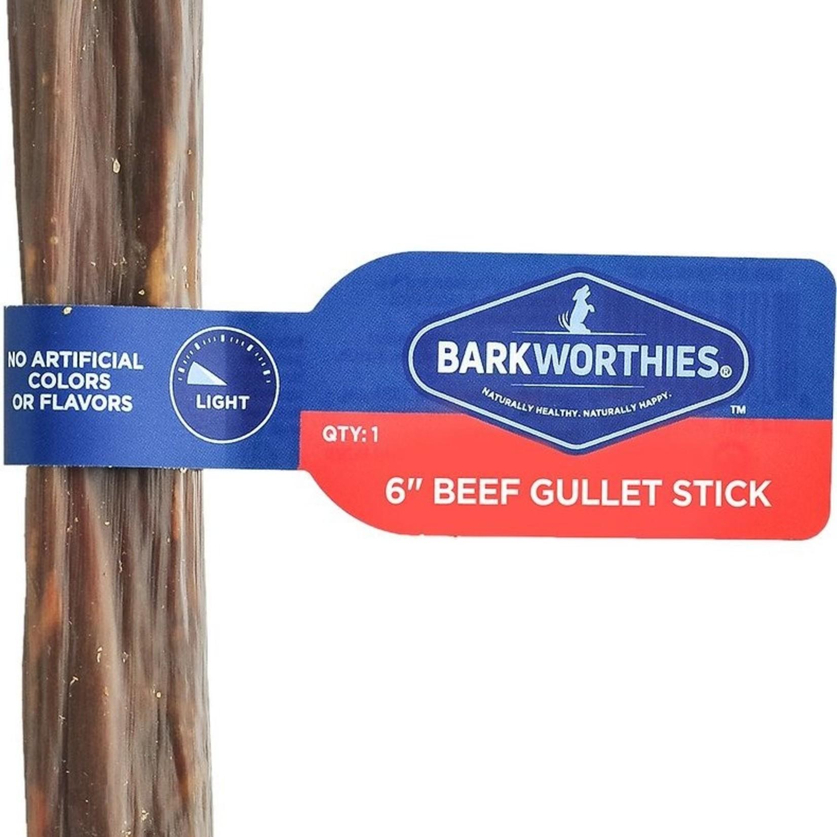 "Barkworthies Barkworthies Beef Gullet Stick 6"""