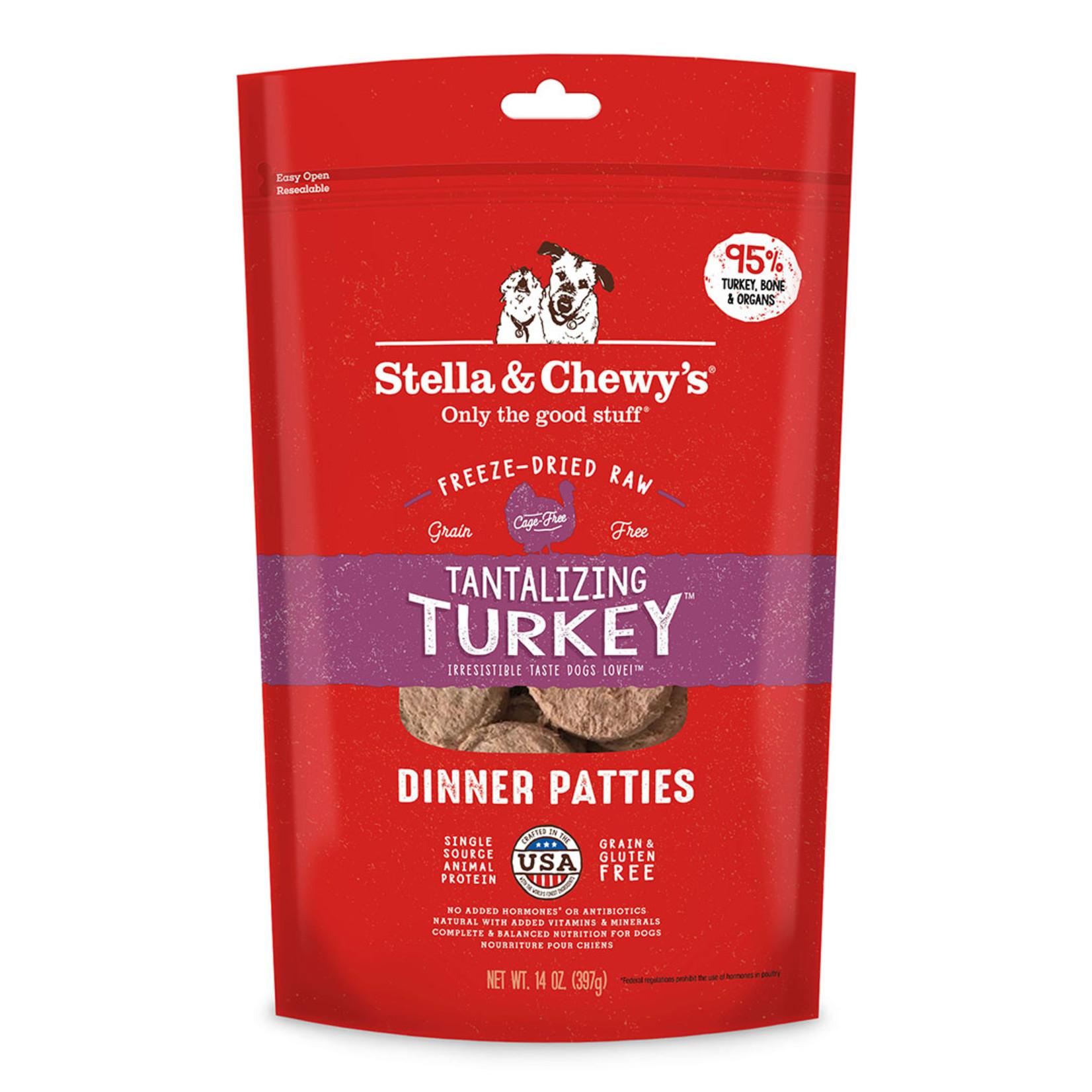 Stella & Chewys Stella Freeze-Dried Dog Dinner Turkey 14 OZ