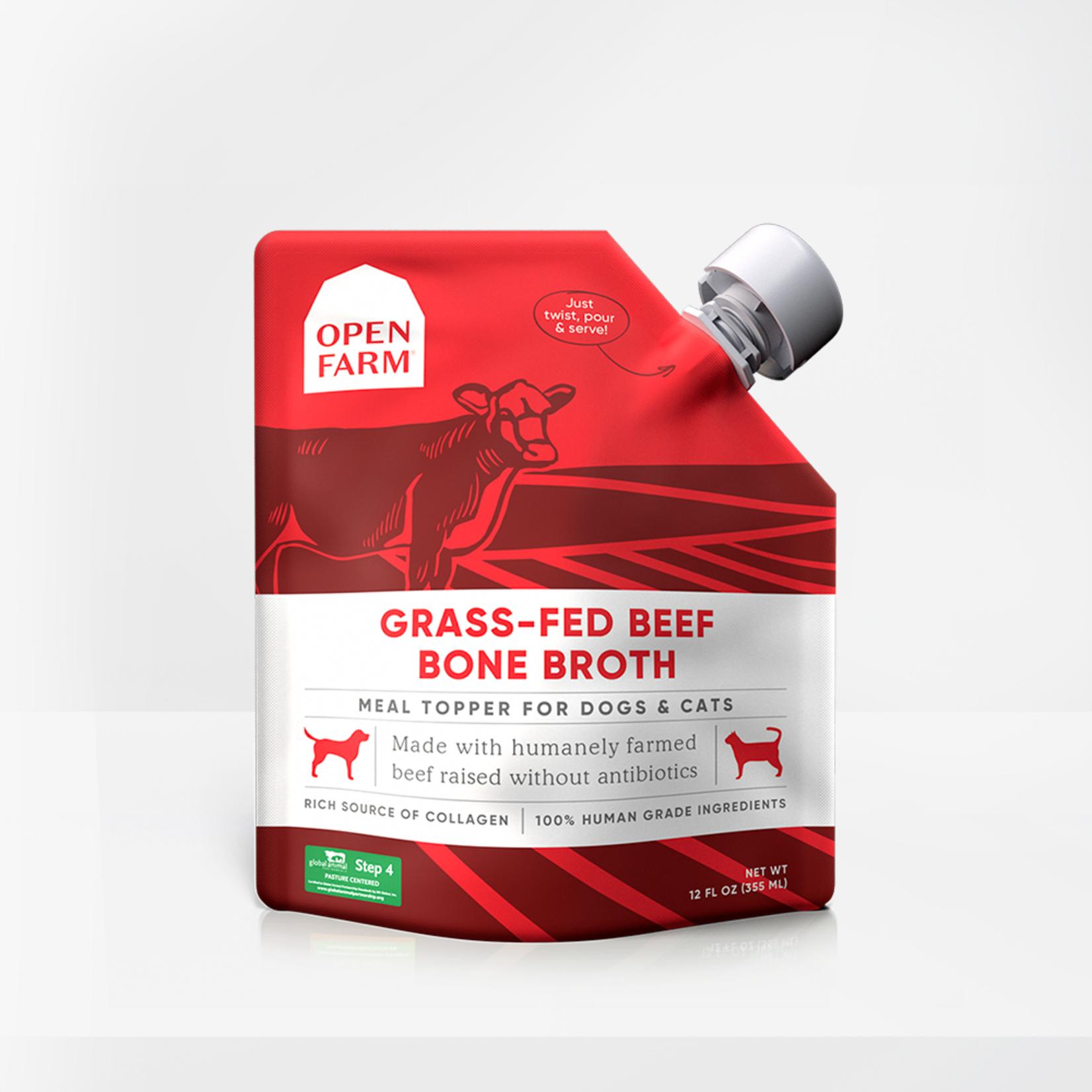 Open Farm Open Farm Bone Broth Beef 12 OZ