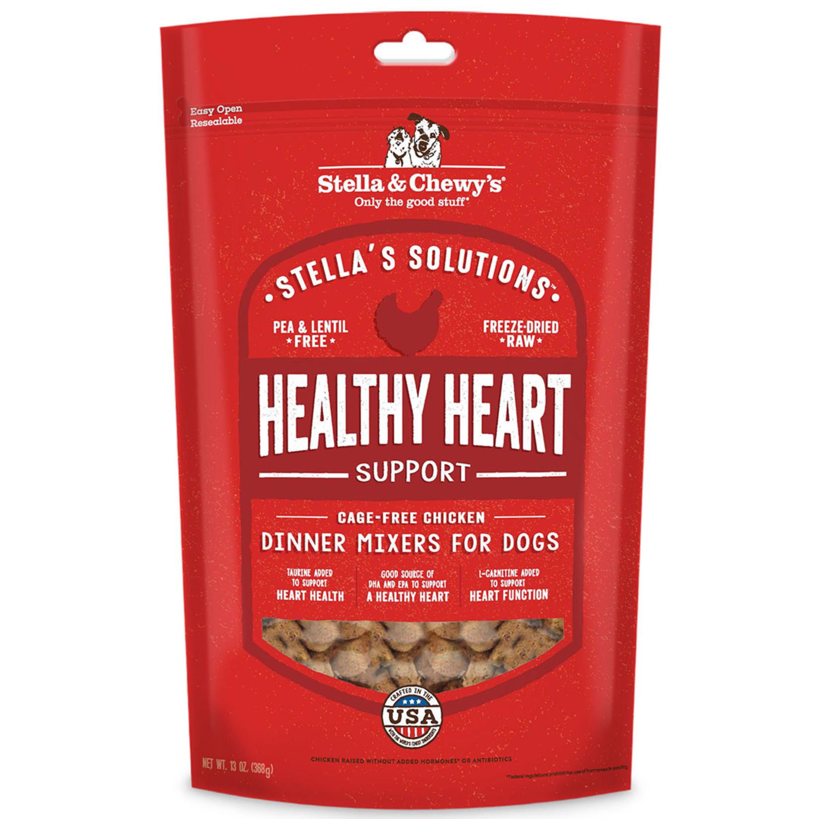 Stella & Chewys Stella Freeze-Dried Dog Healthy Heart Support Chicken Dinner Mixers 13 OZ