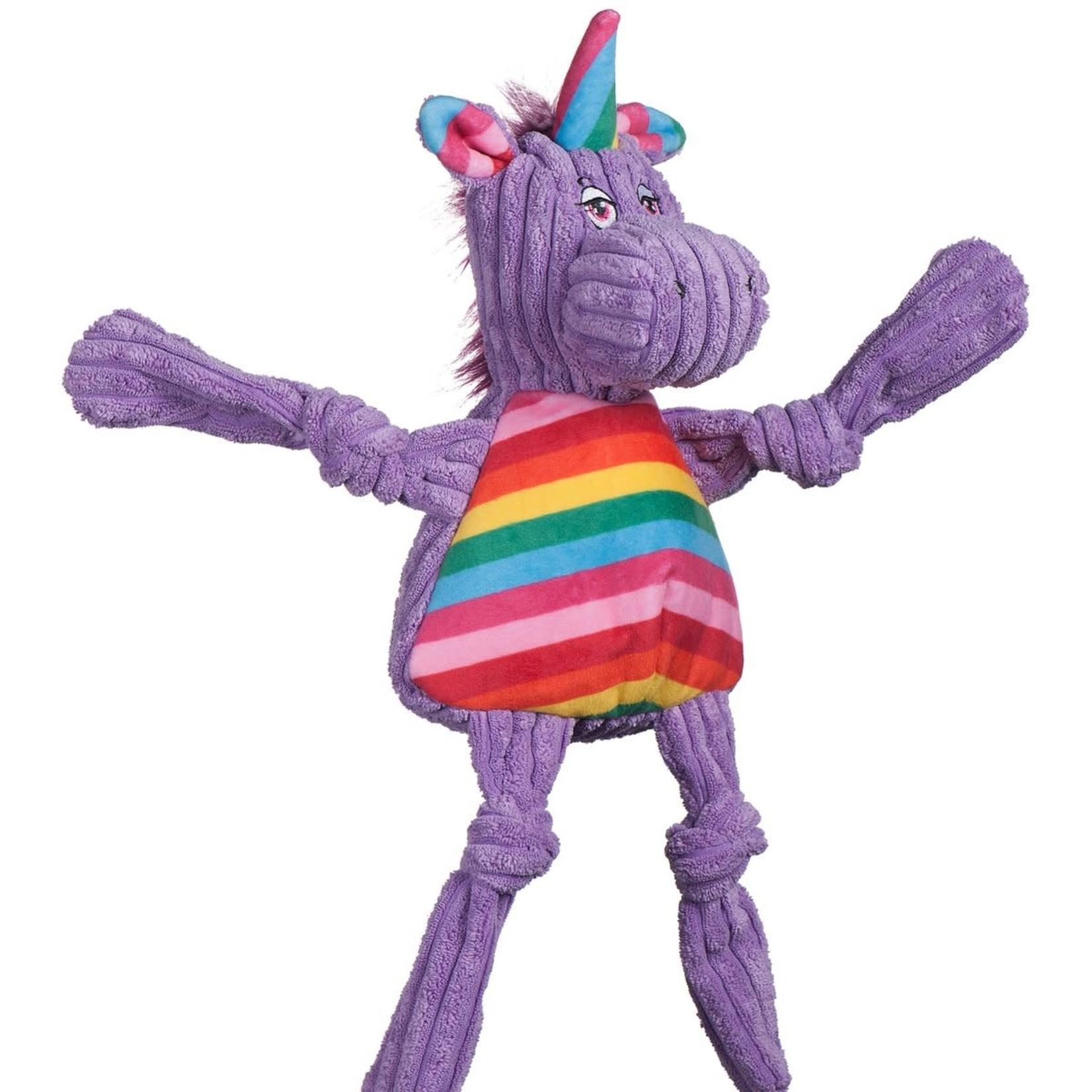 HuggleHounds HuggleHounds Knotties Rainbow Unicorn Large