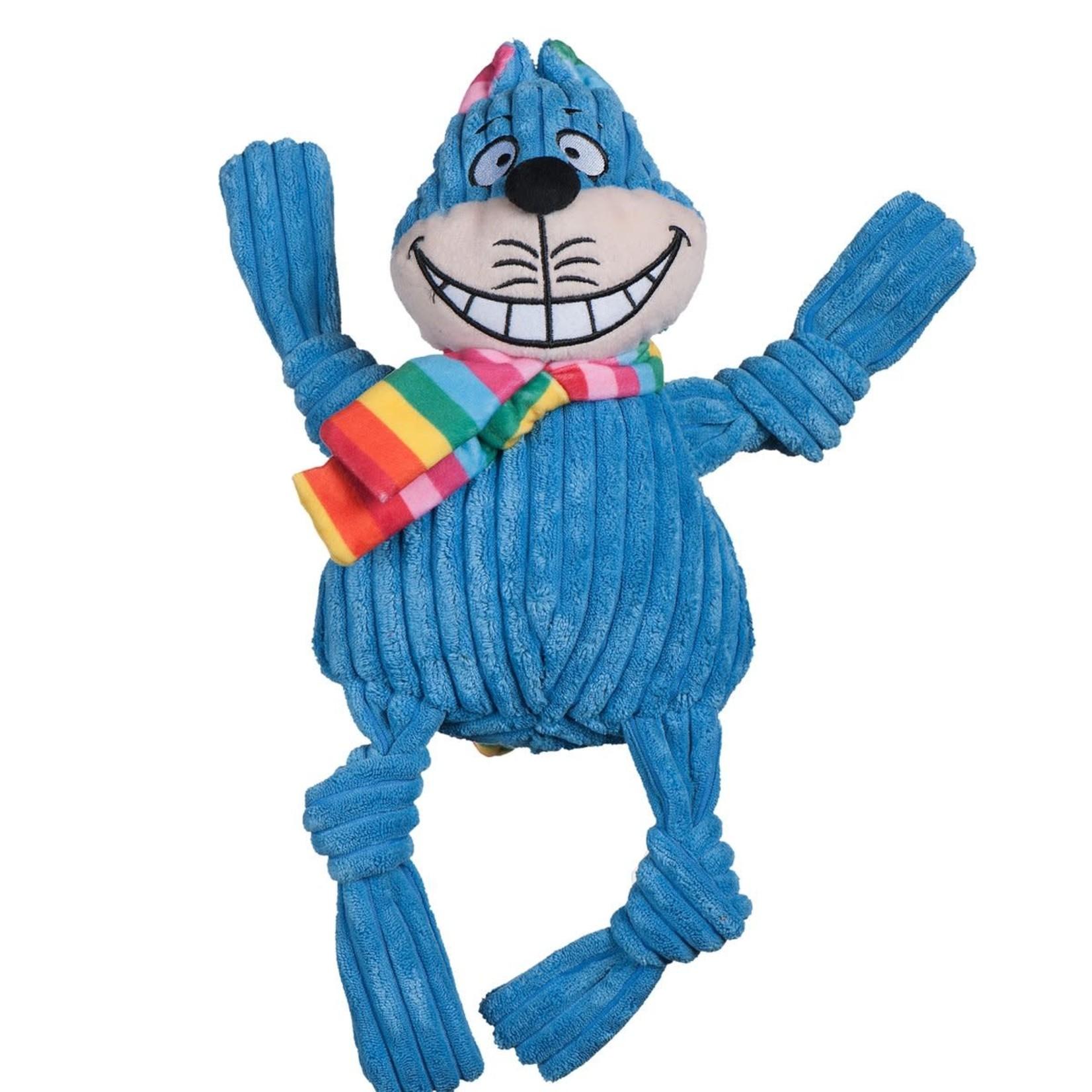 HuggleHounds HuggleHounds Knotties Rainbow Cat Large