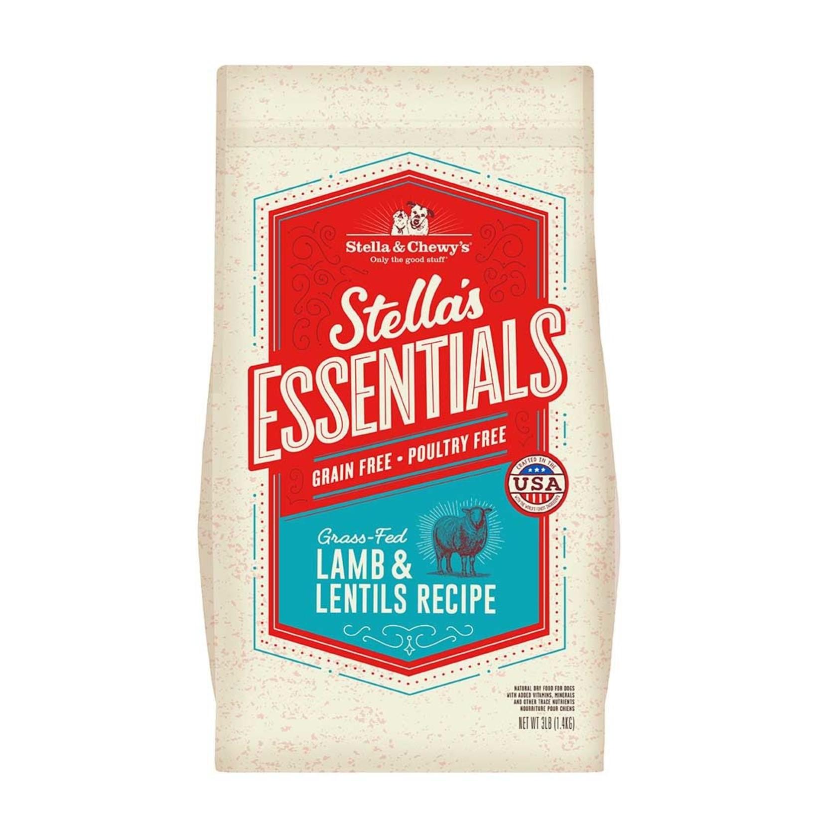 Stella & Chewys Stella & Chewy's Grain Free Lamb & Lentil 3#