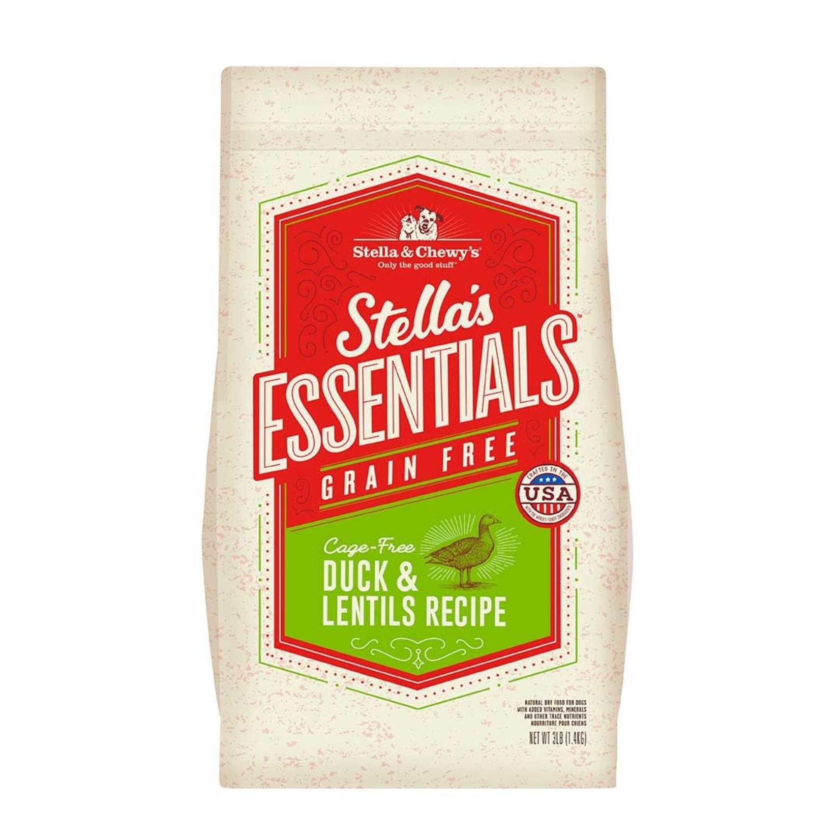 Stella & Chewys Stella & Chewy's Grain Free Duck & Lentil 3#