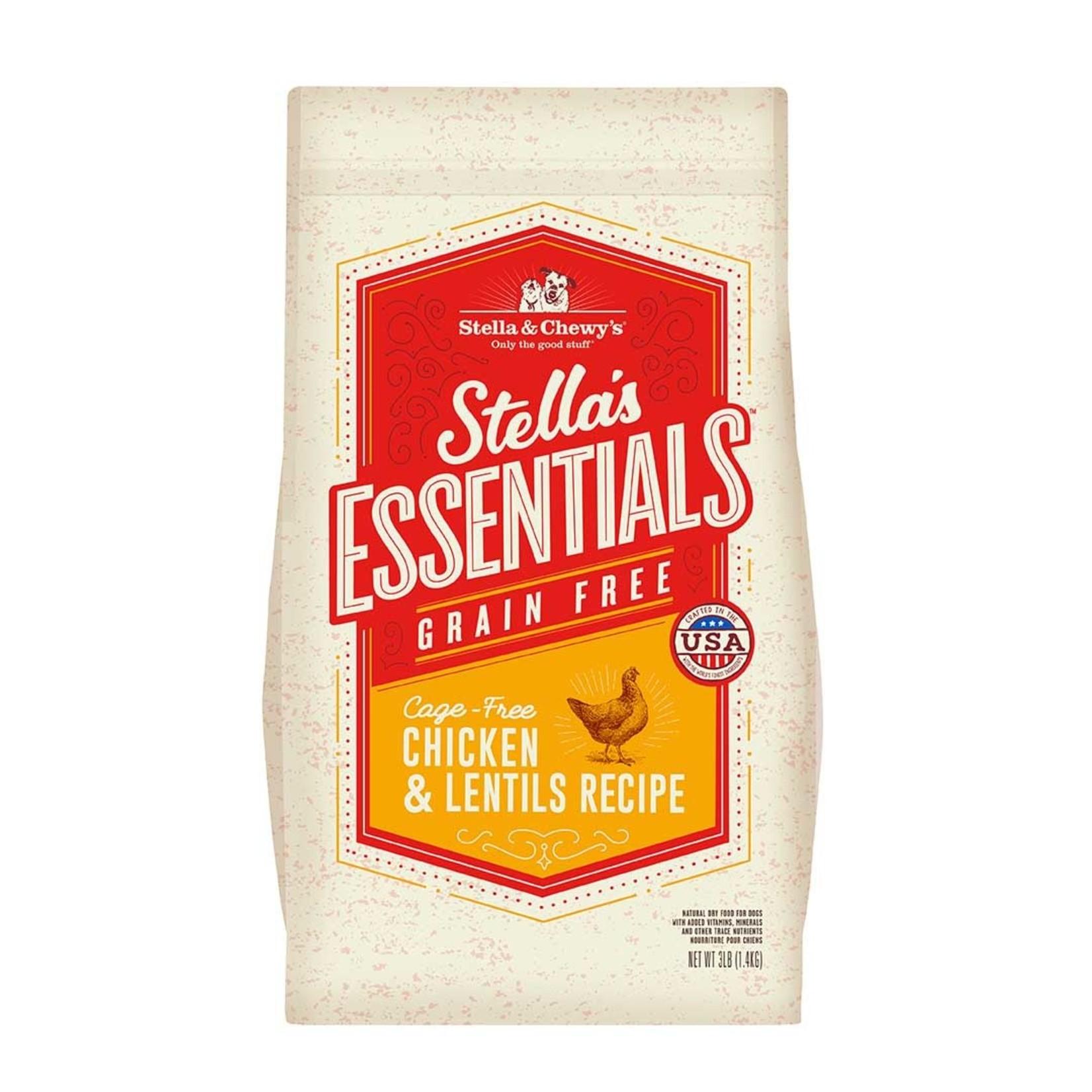 Stella & Chewys Stella & Chewy's Grain Free Chicken & Lentil 25#