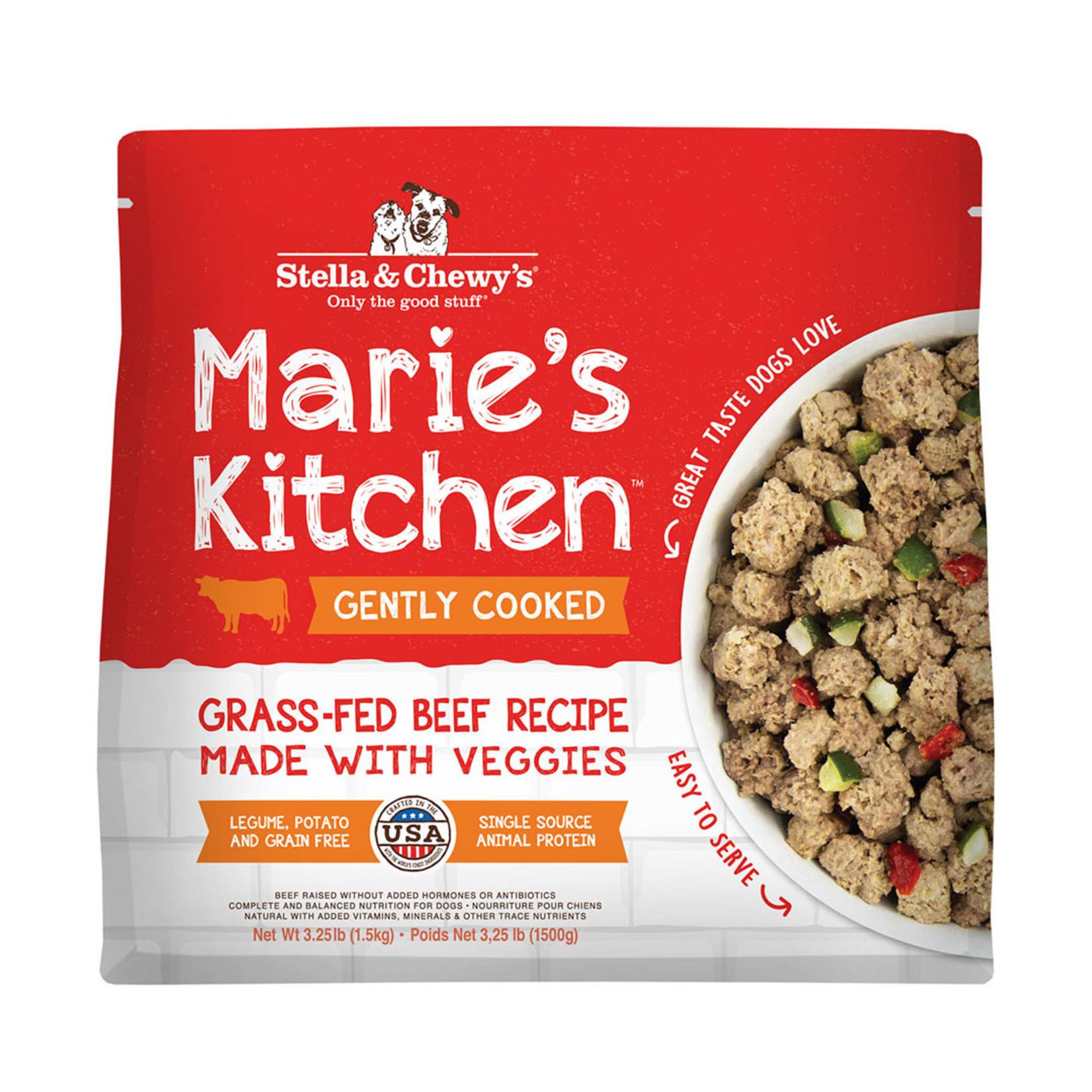 Stella & Chewys Stella Frozen Gently Cooked Marie's Kitchen Beef 3.25#