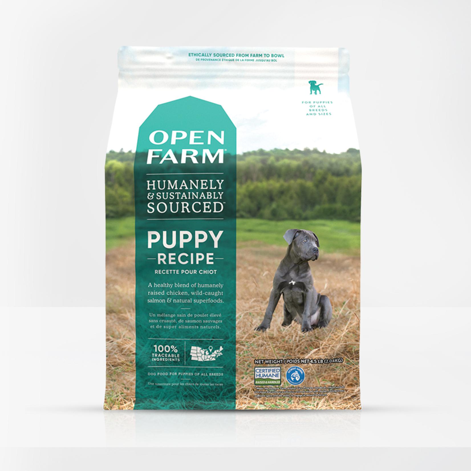 Open Farm Open Farm Dog Grain Free Puppy 4.5#