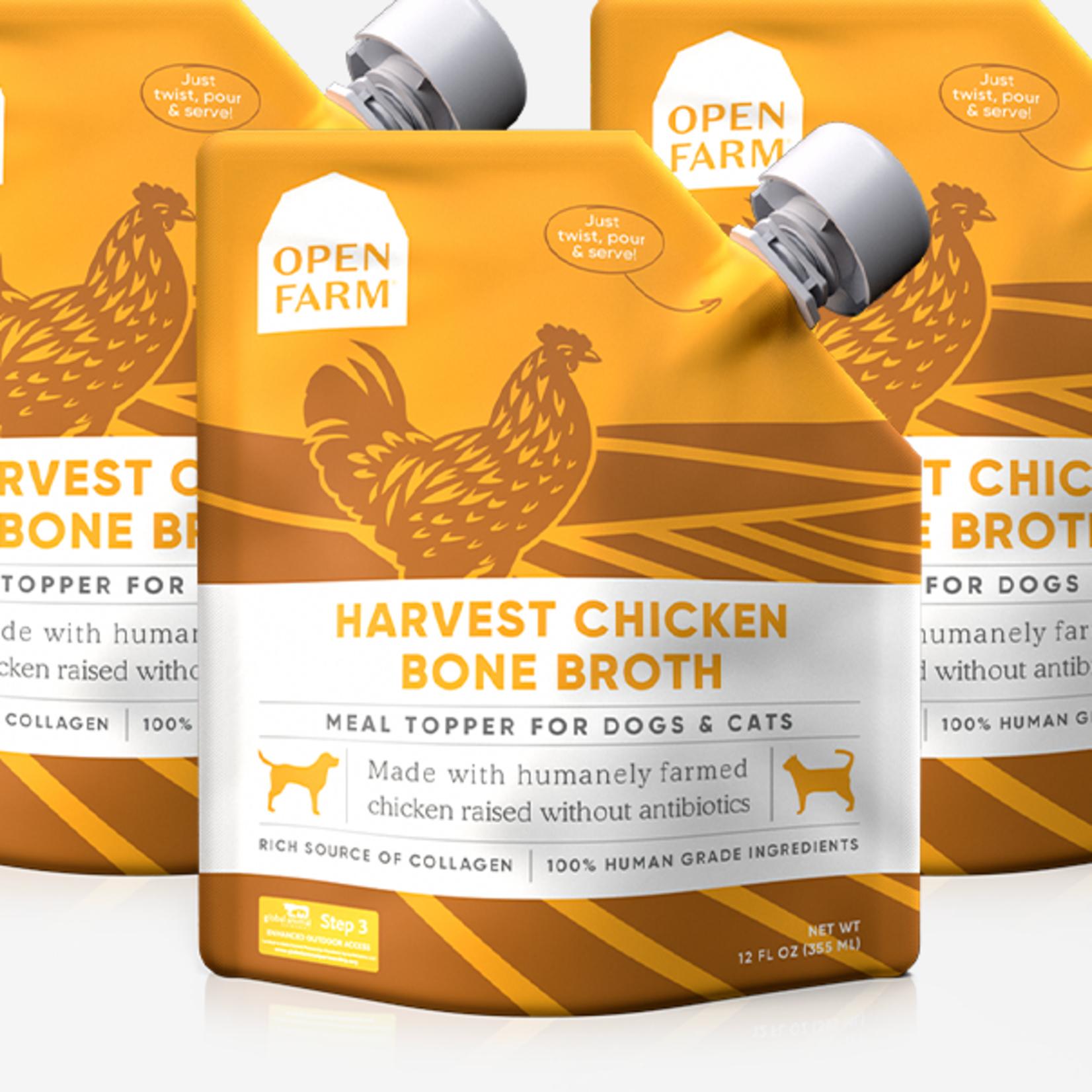 Open Farm Open Farm Bone Broth Chicken 12 OZ