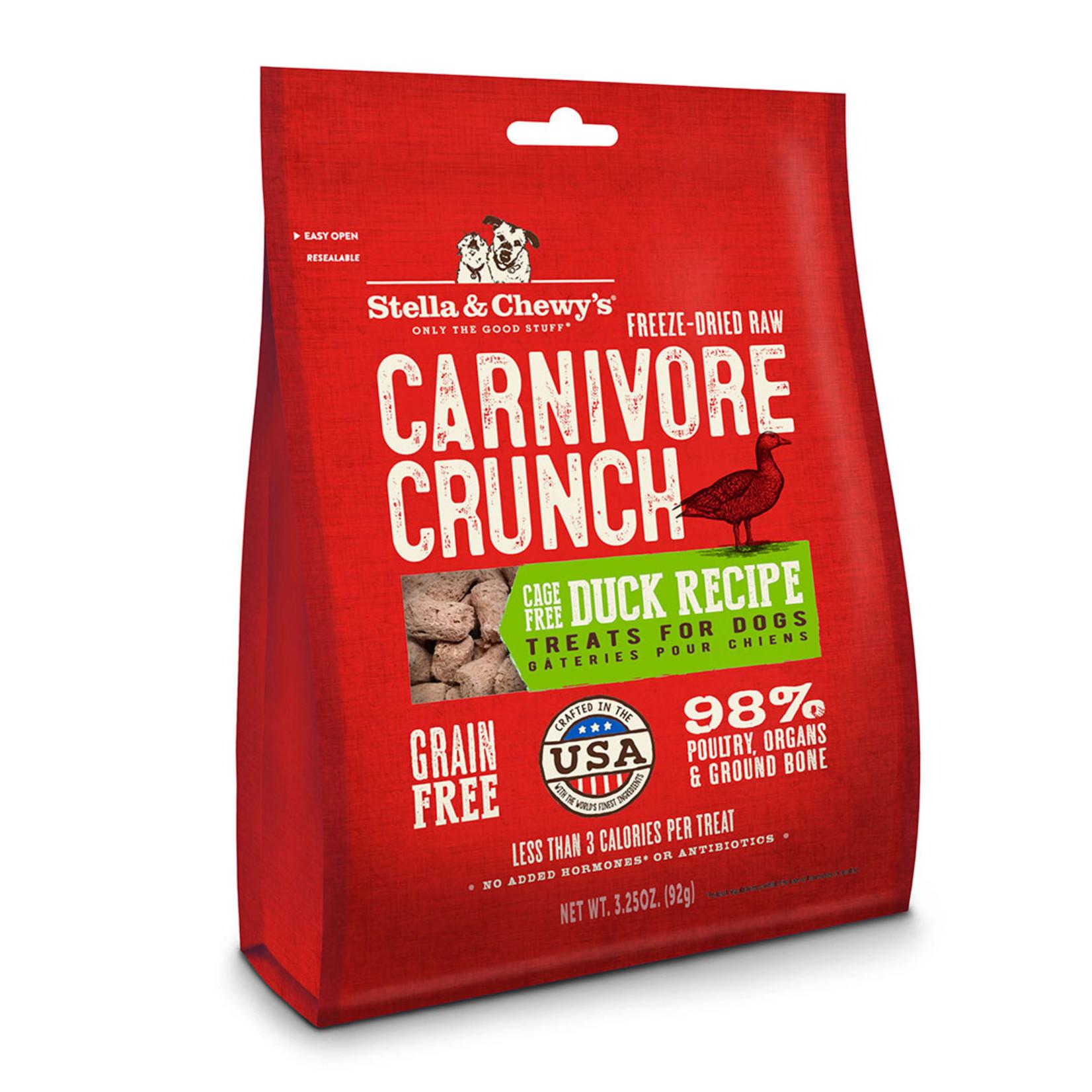 Stella & Chewys Stella & Chewy's Carnivore Crunch Duck 3.25 OZ