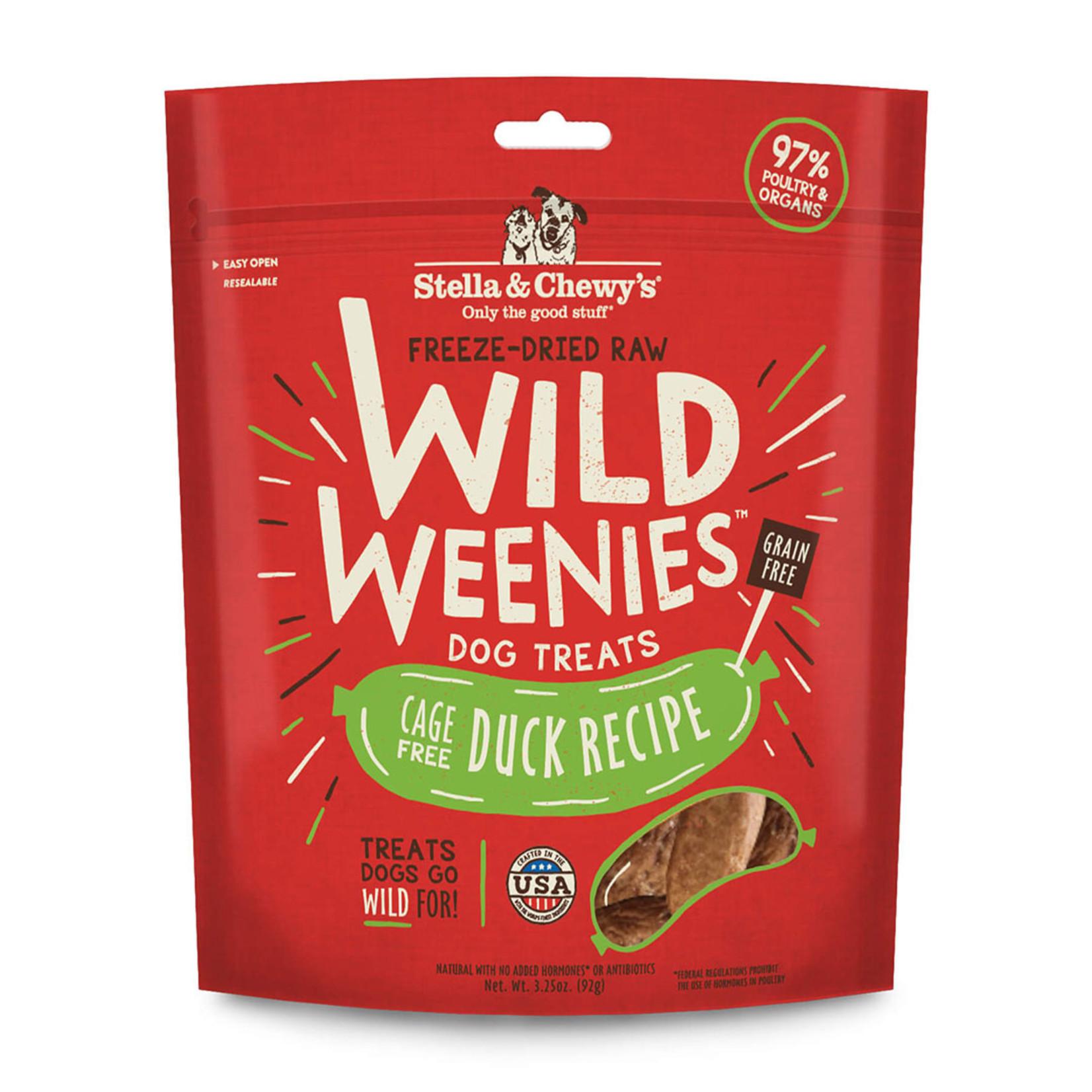 Stella & Chewys Stella & Chewy's Wild Weenies Duck 3.25 OZ