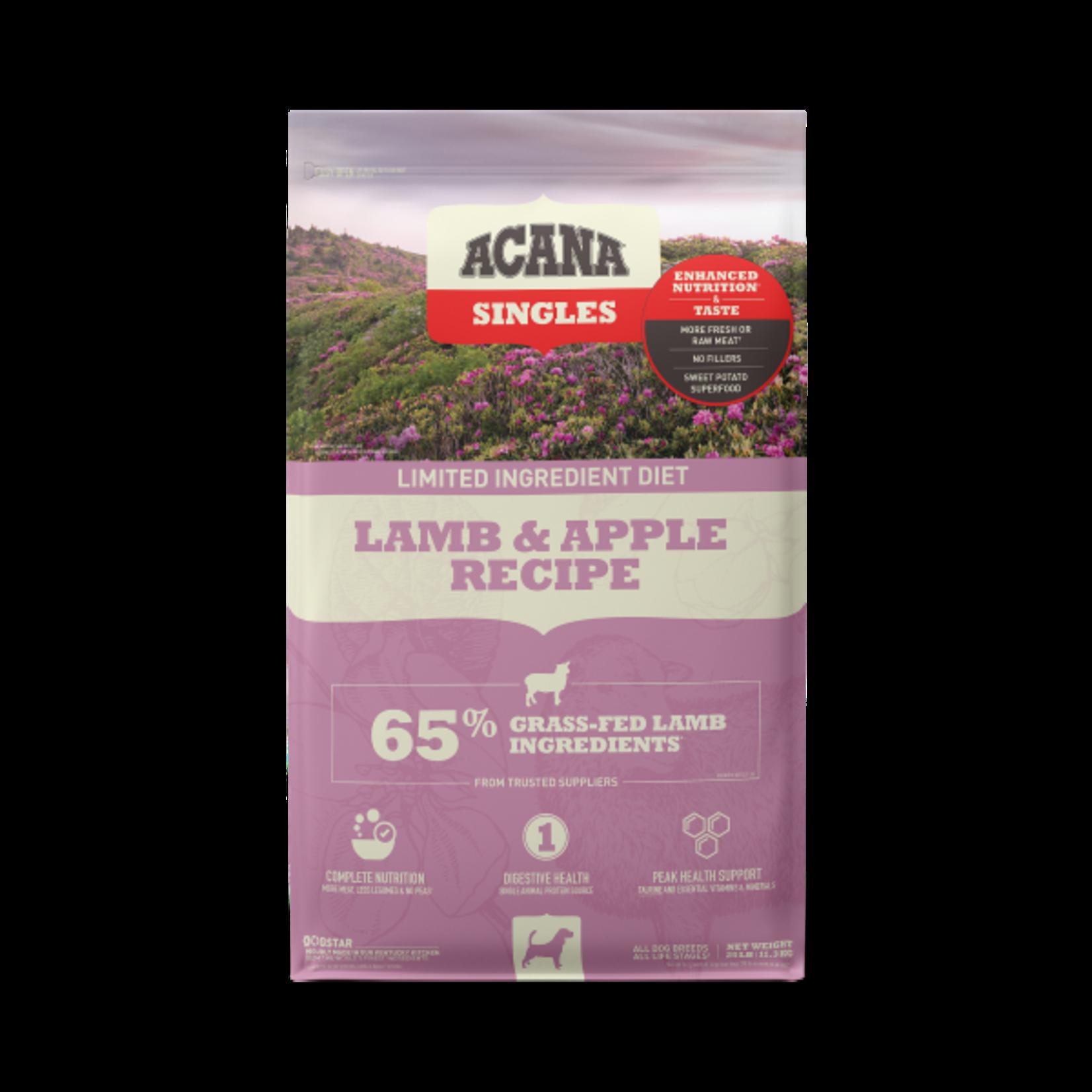 Champion Pet Foods Acana Dog Singles Lamb & Apple 25#