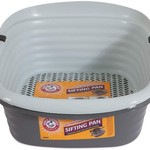 Pet Mate Arm & Hammer Sifting Litter Pan Light Gray/Dawn Color Large