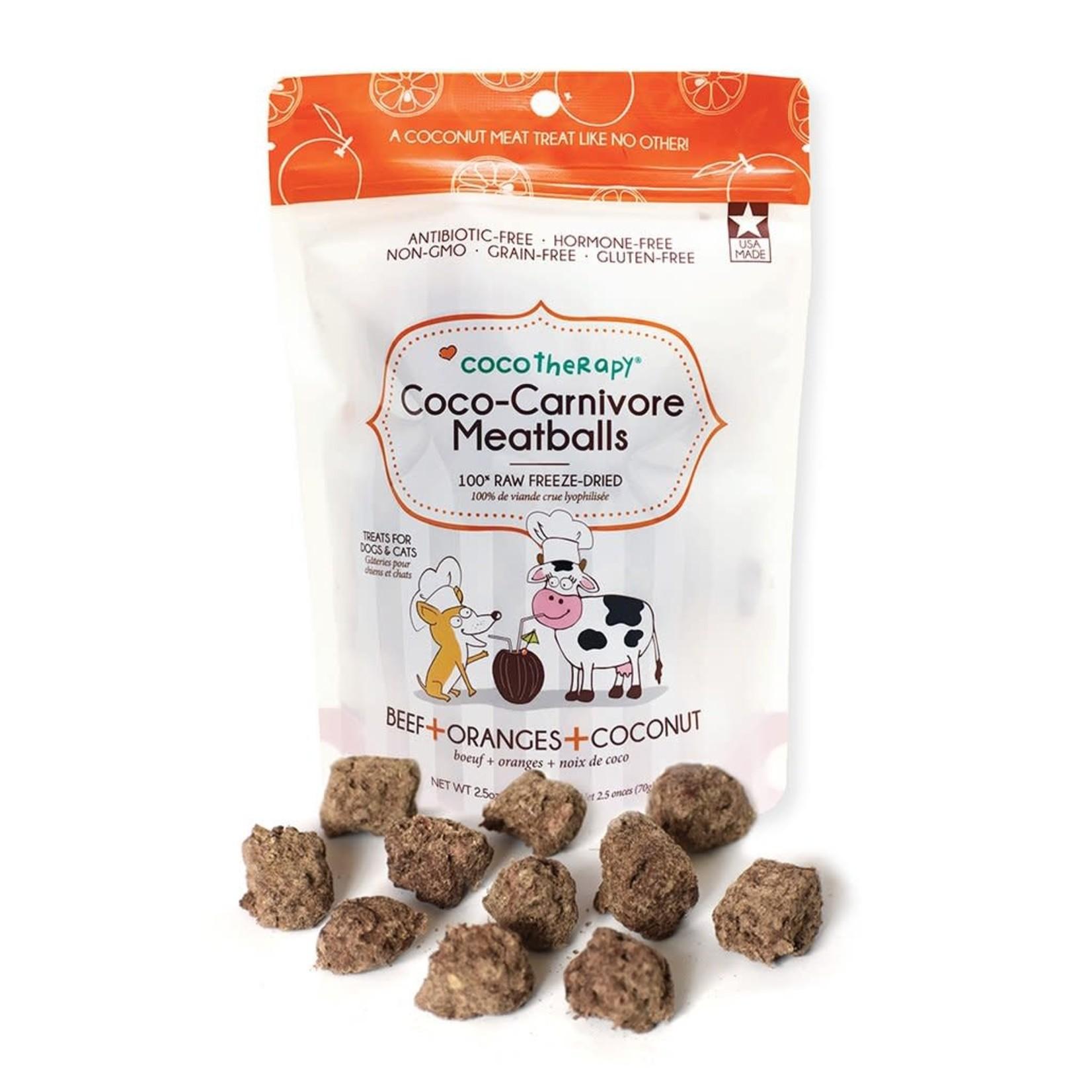 Coco Therapy Coco Carnivore Meatballs Beef 2.5 OZ