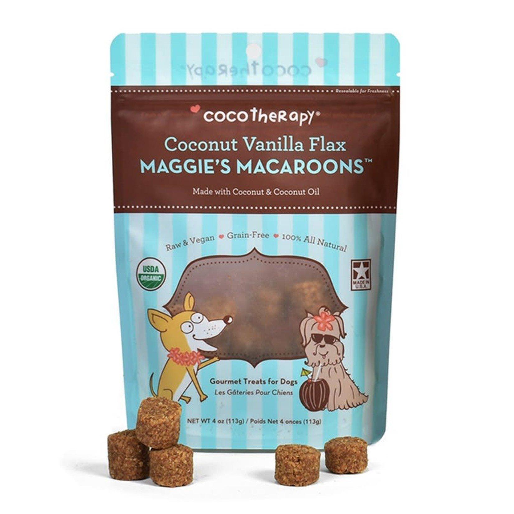 Coco Therapy Coco Therapy Vanilla Macaroons 4 OZ