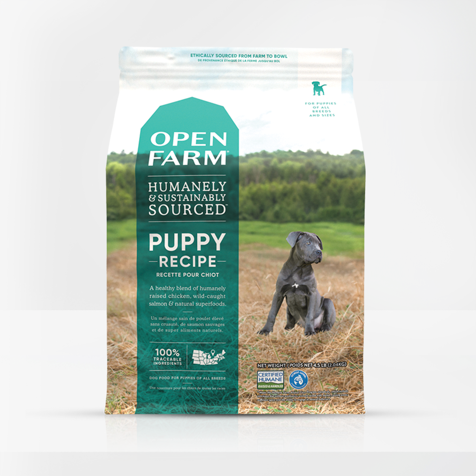 Open Farm Open Farm Dog Grain Free Puppy 24#