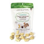 Coco Therapy Coco Carnivore Meatballs Turkey 2.5 OZ