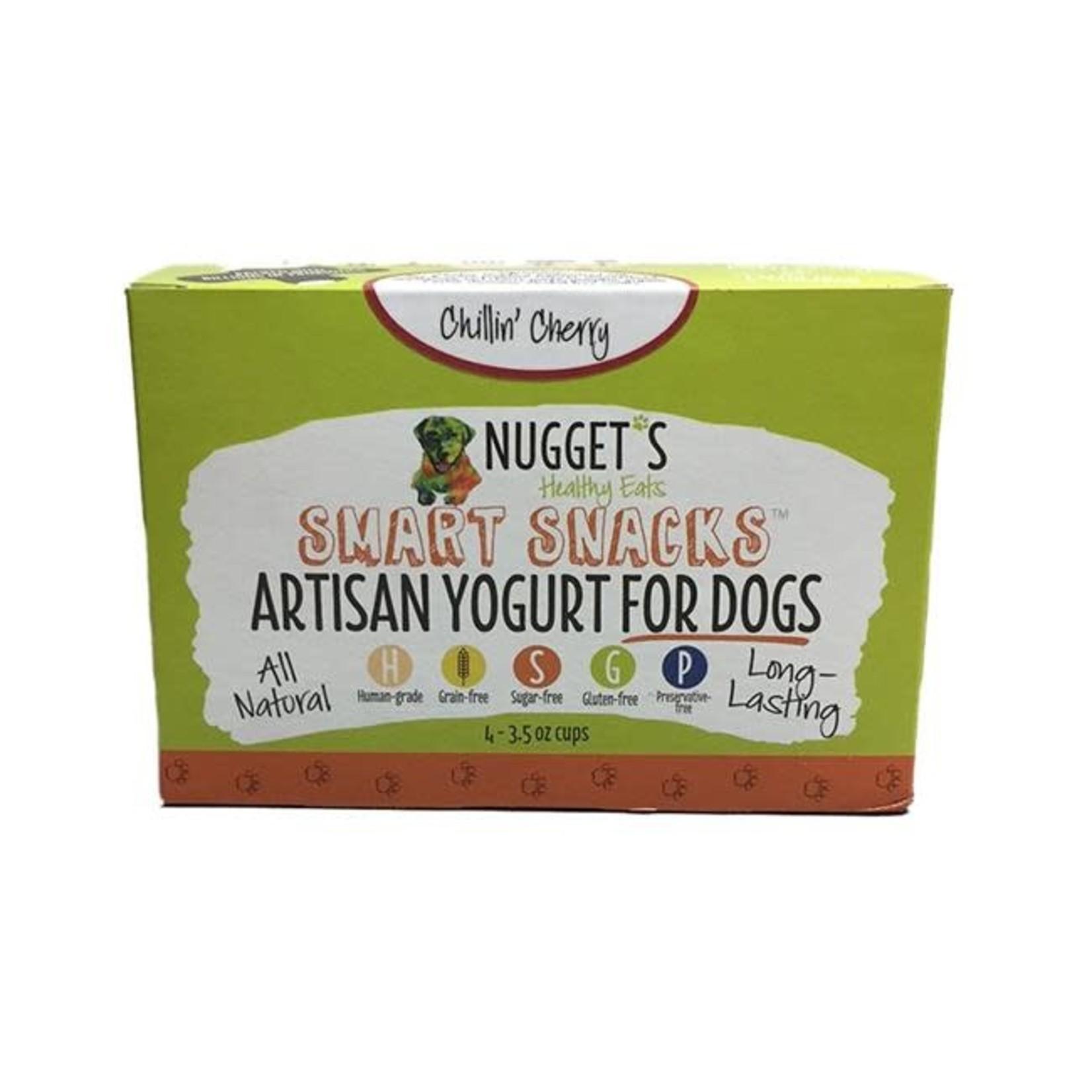 Nugget's Healthy Eats Nugget's Healthy Eats FZ Yogurt Chillin' Cherry 4 Pack