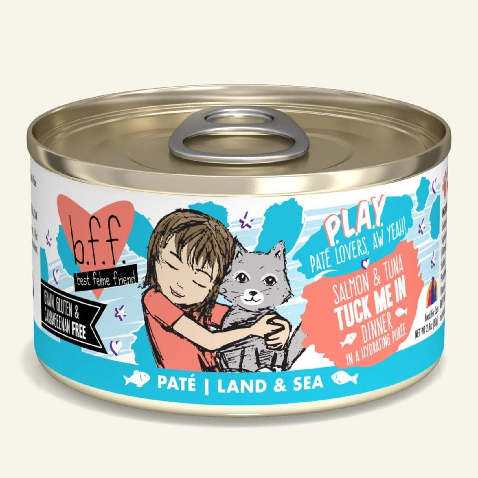 Weruva BFF PLAY Cat Salmon & Tuna Tuck Me In 2.8 OZ