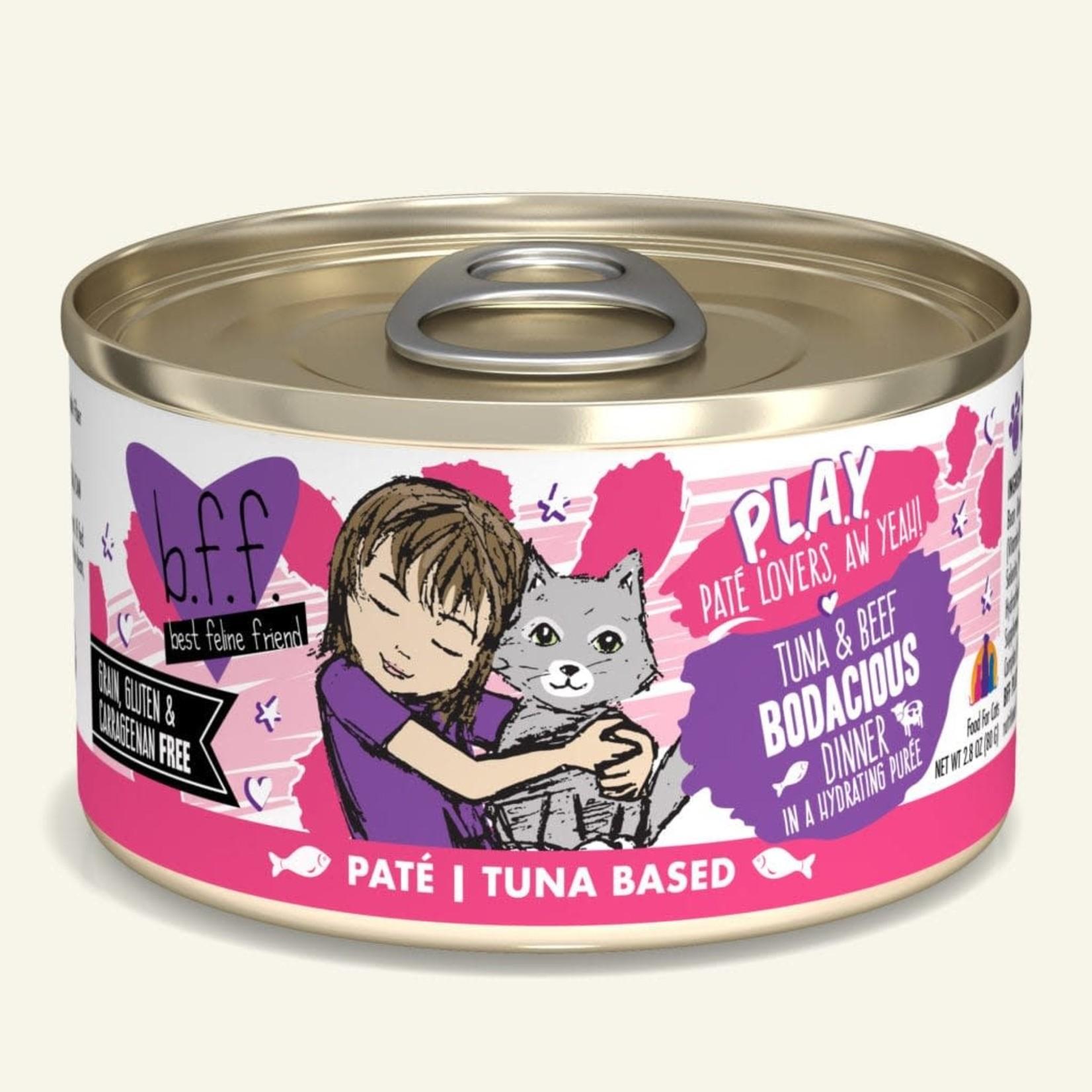 Weruva BFF PLAY Cat Tuna & Beef Bodacious 2.8 OZ