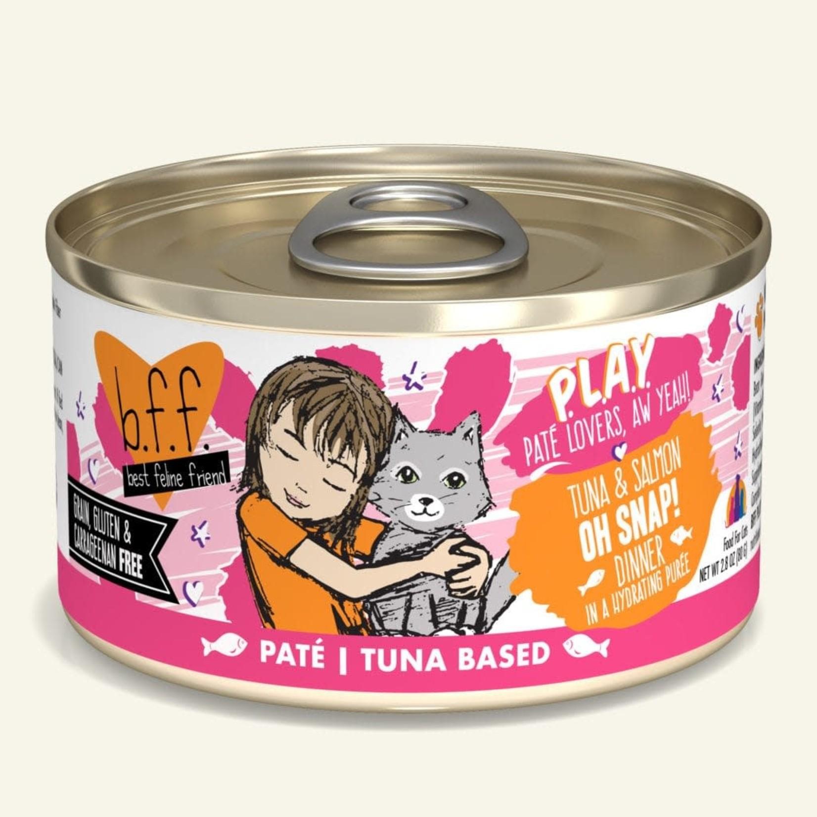 Weruva Inc. BFF PLAY Cat Tuna & Salmon Oh Snap 2.8 OZ